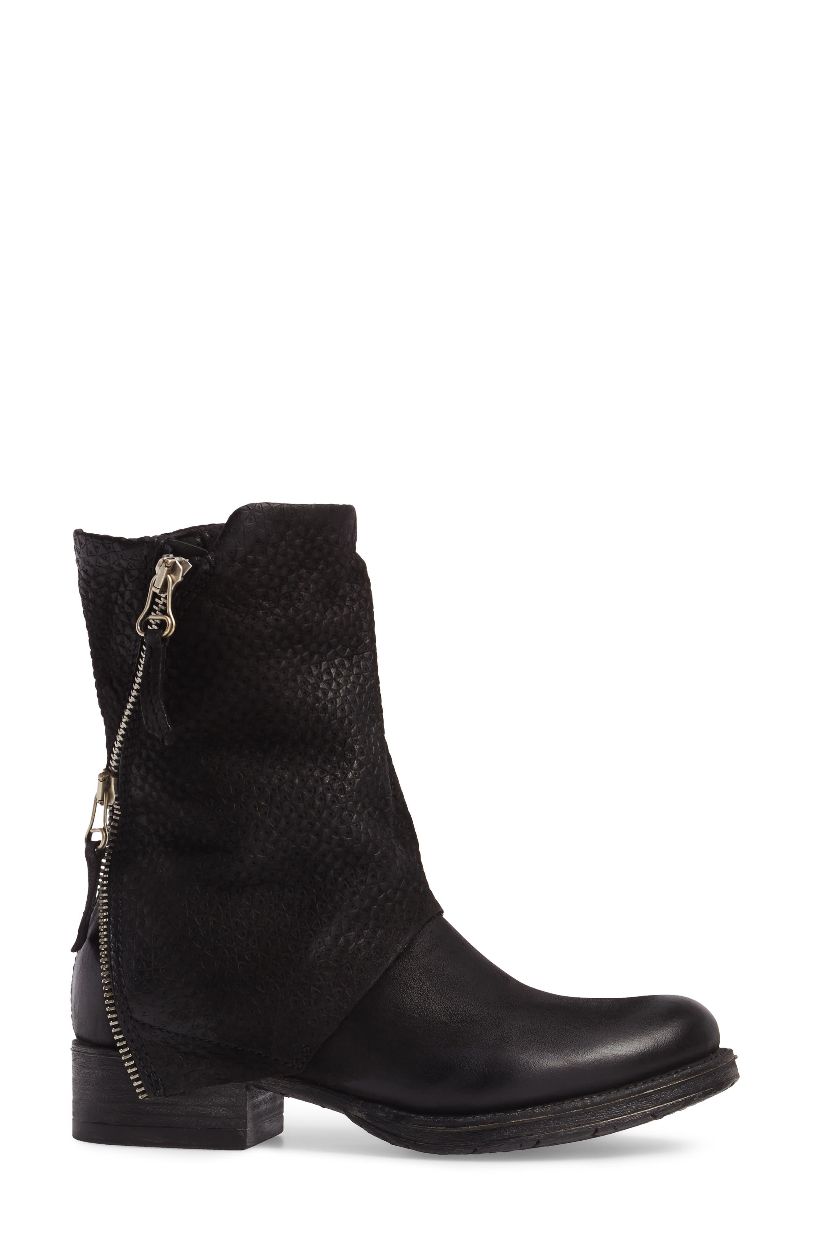 Alternate Image 3  - Miz Mooz Nugget Asymmetrical Textured Boot (Women)