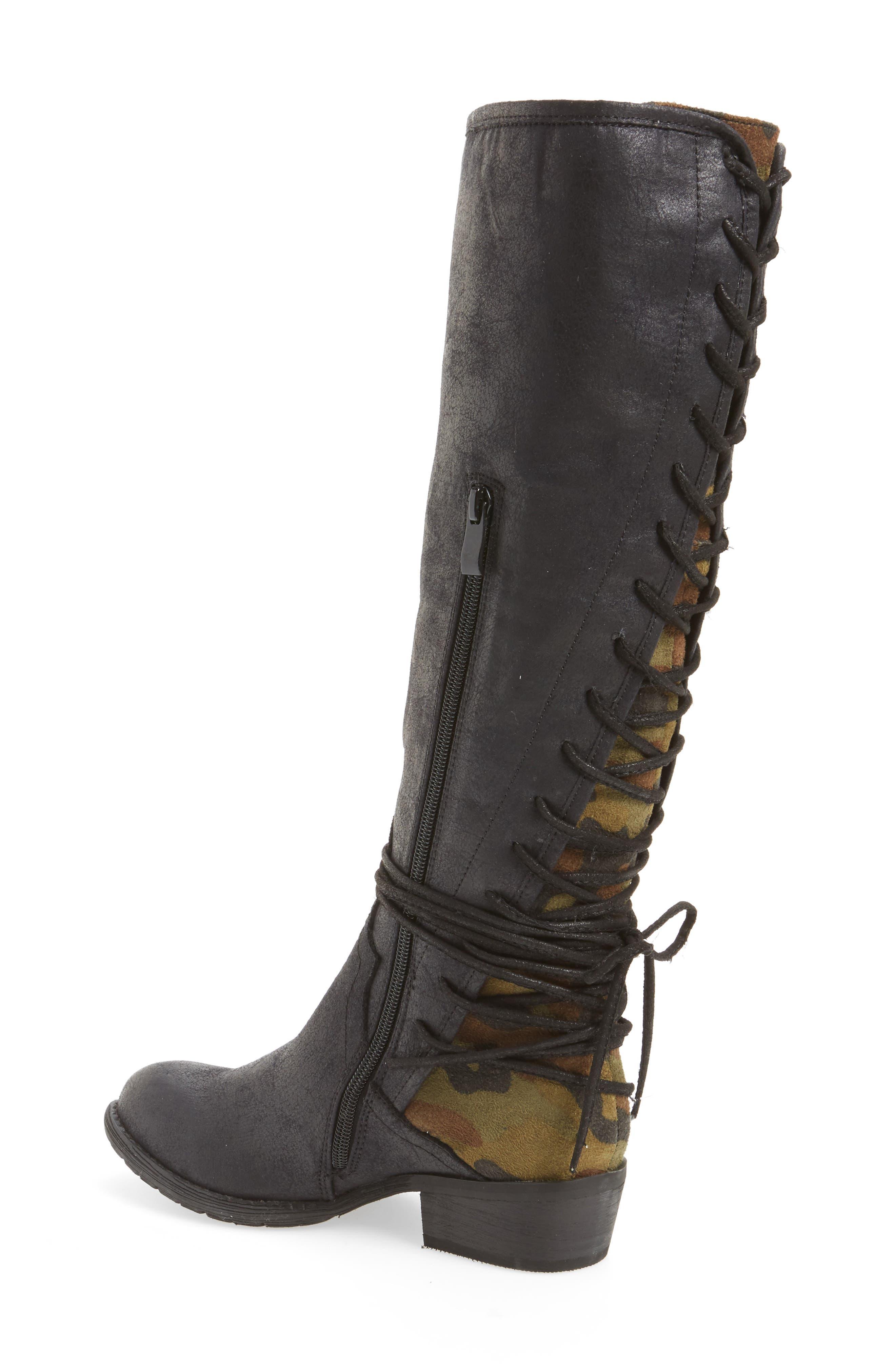 Alternate Image 2  - Very Volatile Marcel Corseted Knee High Boot (Women)