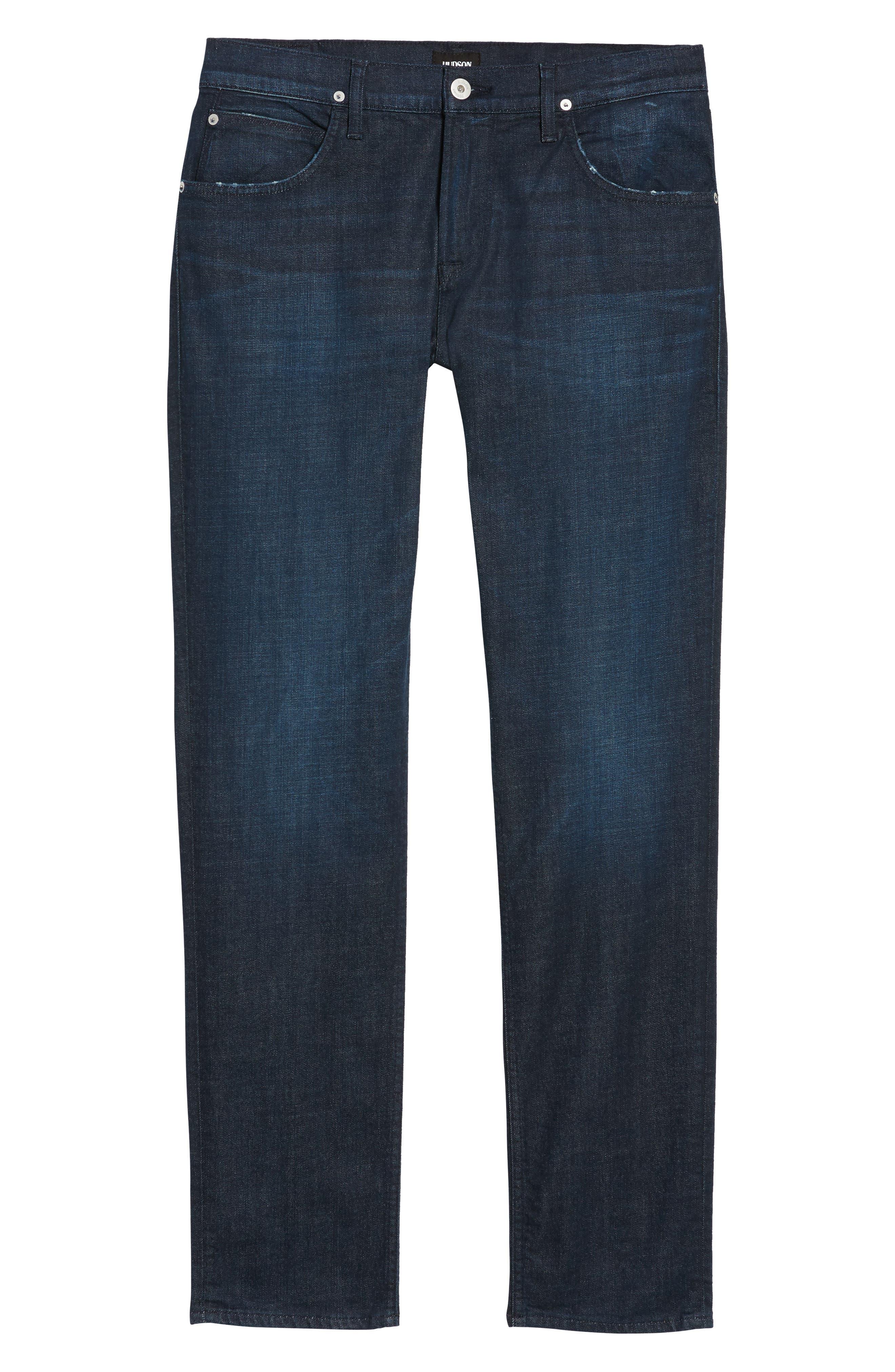 Alternate Image 6  - Hudson Jeans Blake Slim Fit Jeans (Evening Hush)