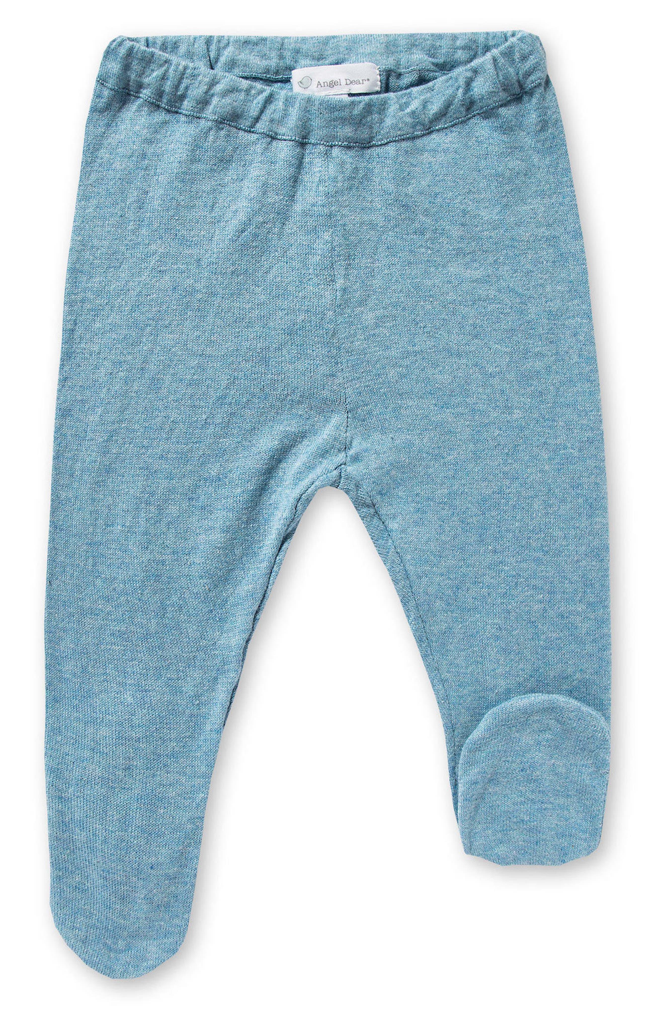 Alternate Image 3  - Angel Dear Sweater, Pants & Blankie Set (Baby Boys)