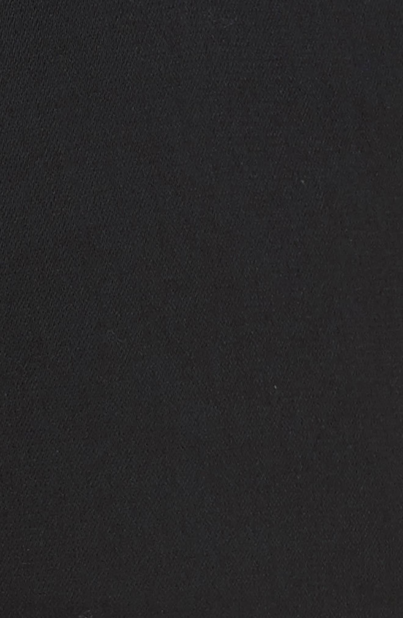 Stitch Front Pants,                             Alternate thumbnail 5, color,                             Black