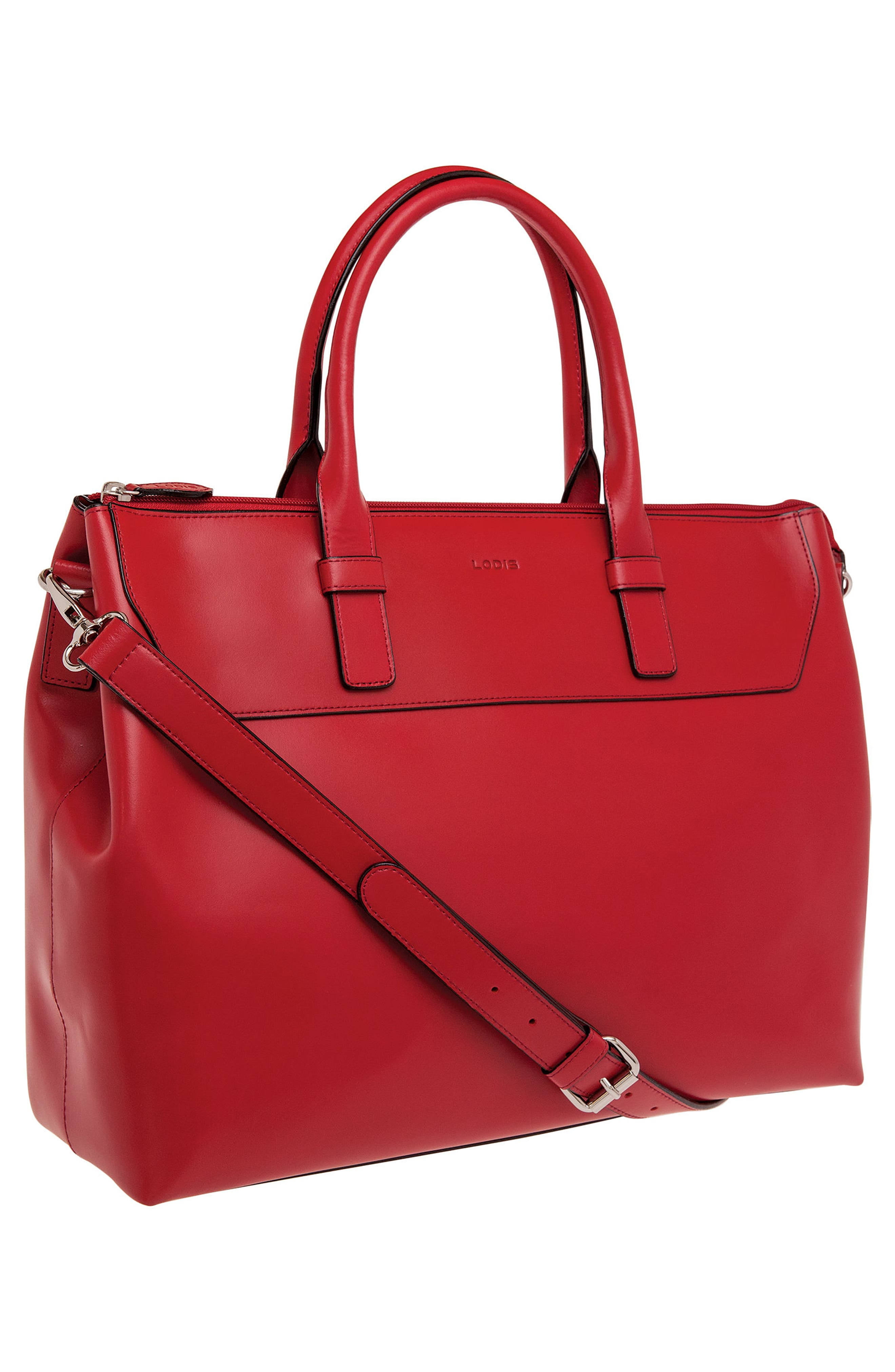 Alternate Image 3  - Lodis Audrey Wilhelmina Leather Work Satchel