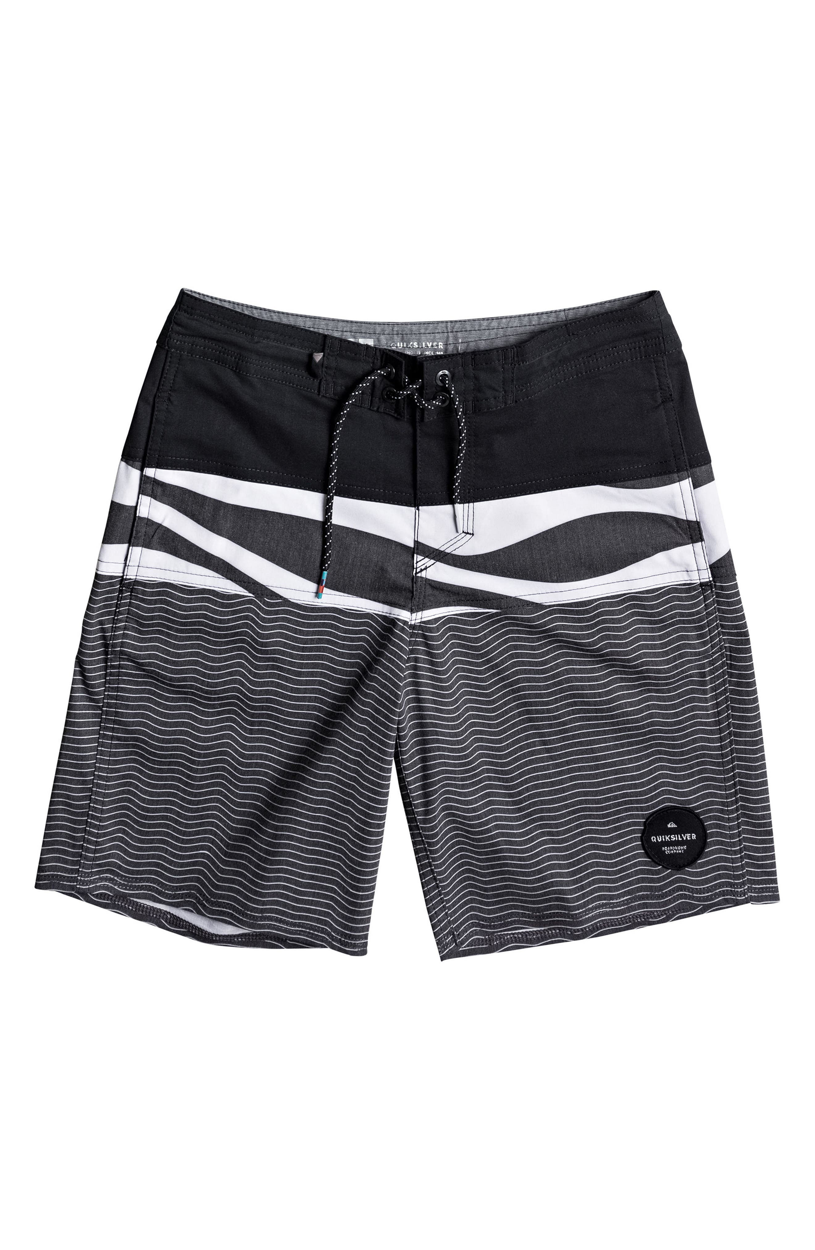 Quiksilver Heatwave Blocked Beach Shorts (Big Boys)