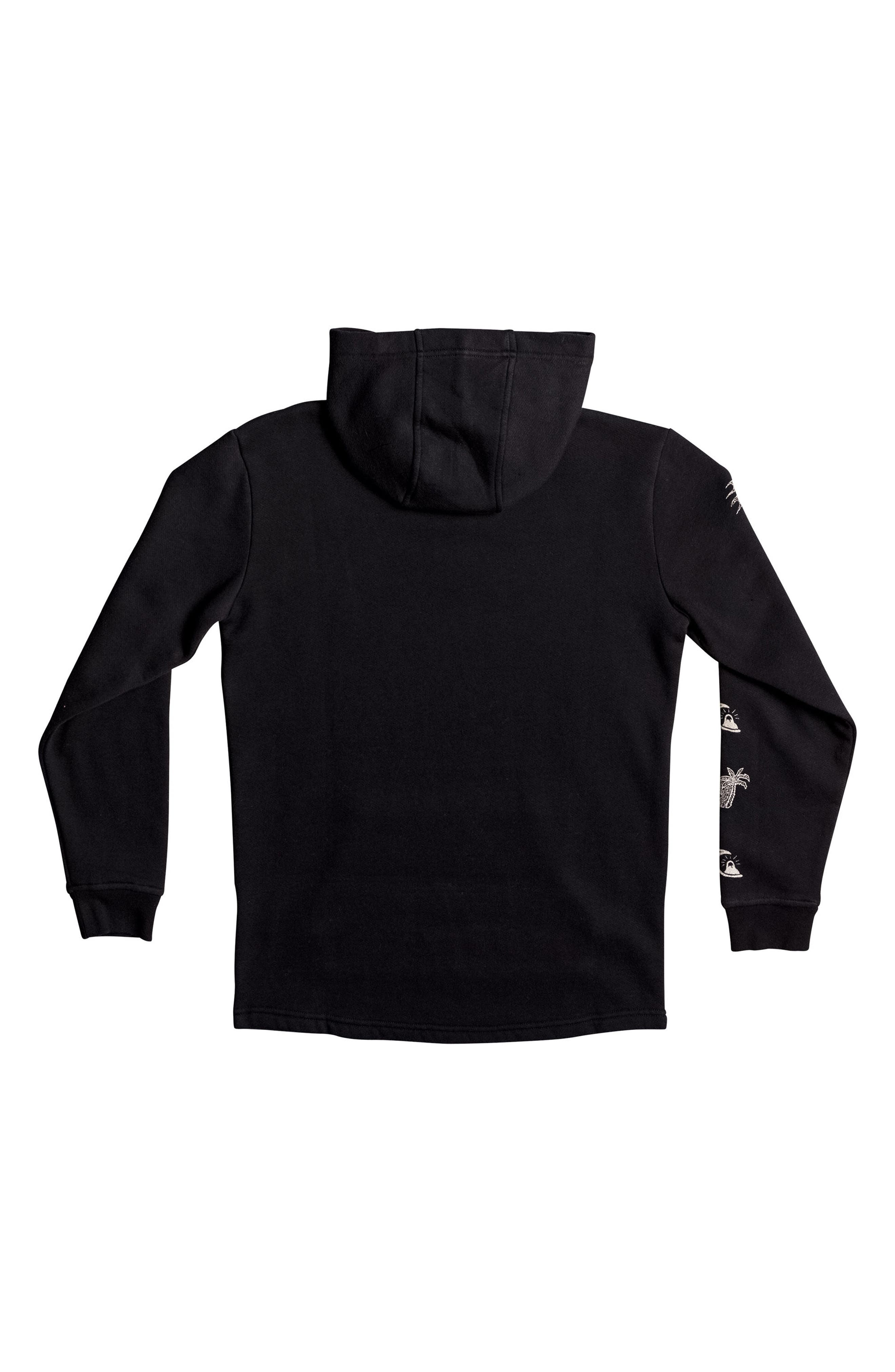 Alternate Image 2  - Quiksilver Venice Bliss Graphic Pullover Hoodie (Big Boys)