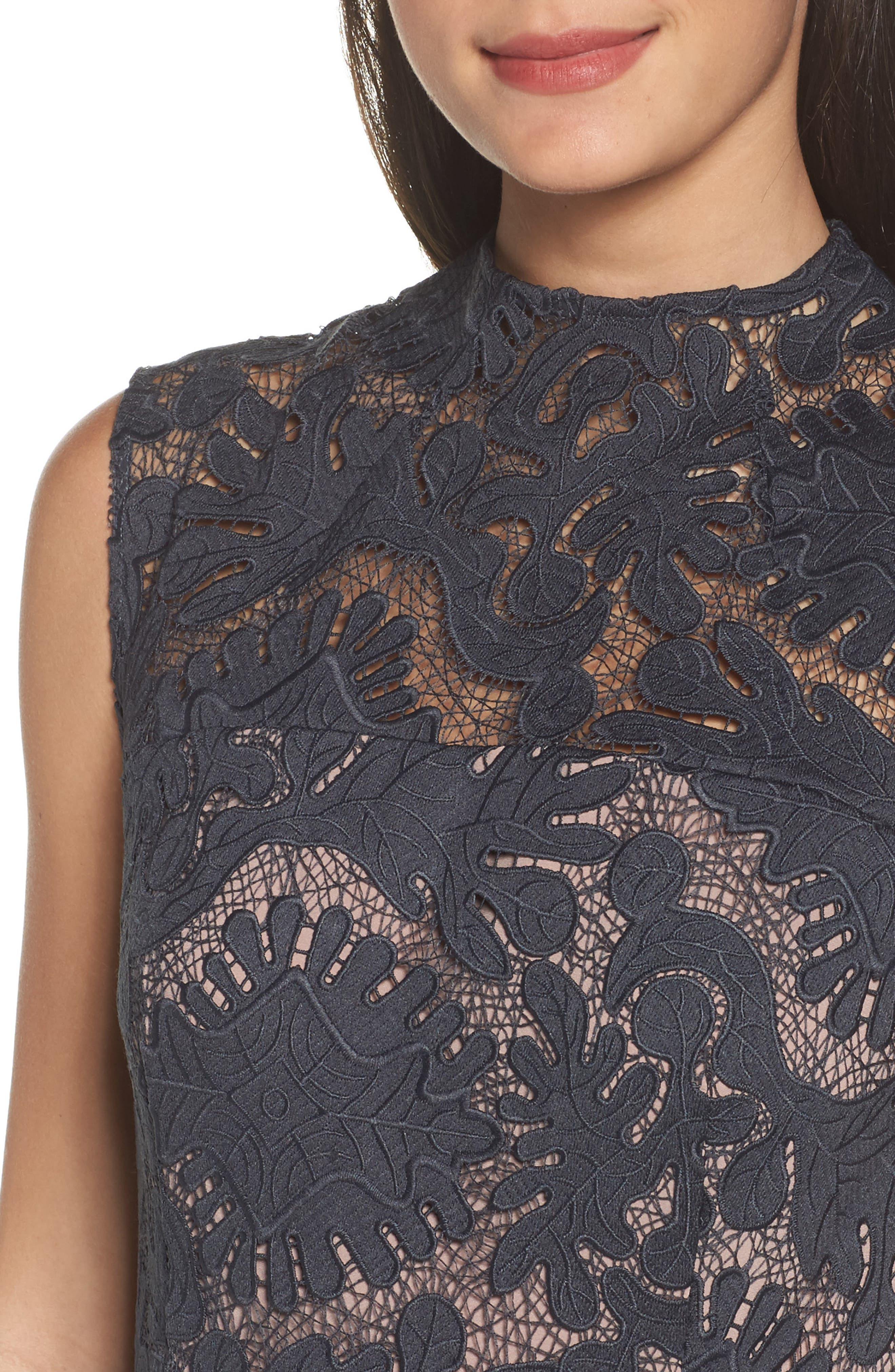 Alternate Image 4  - Chelsea28 Lace Midi Dress