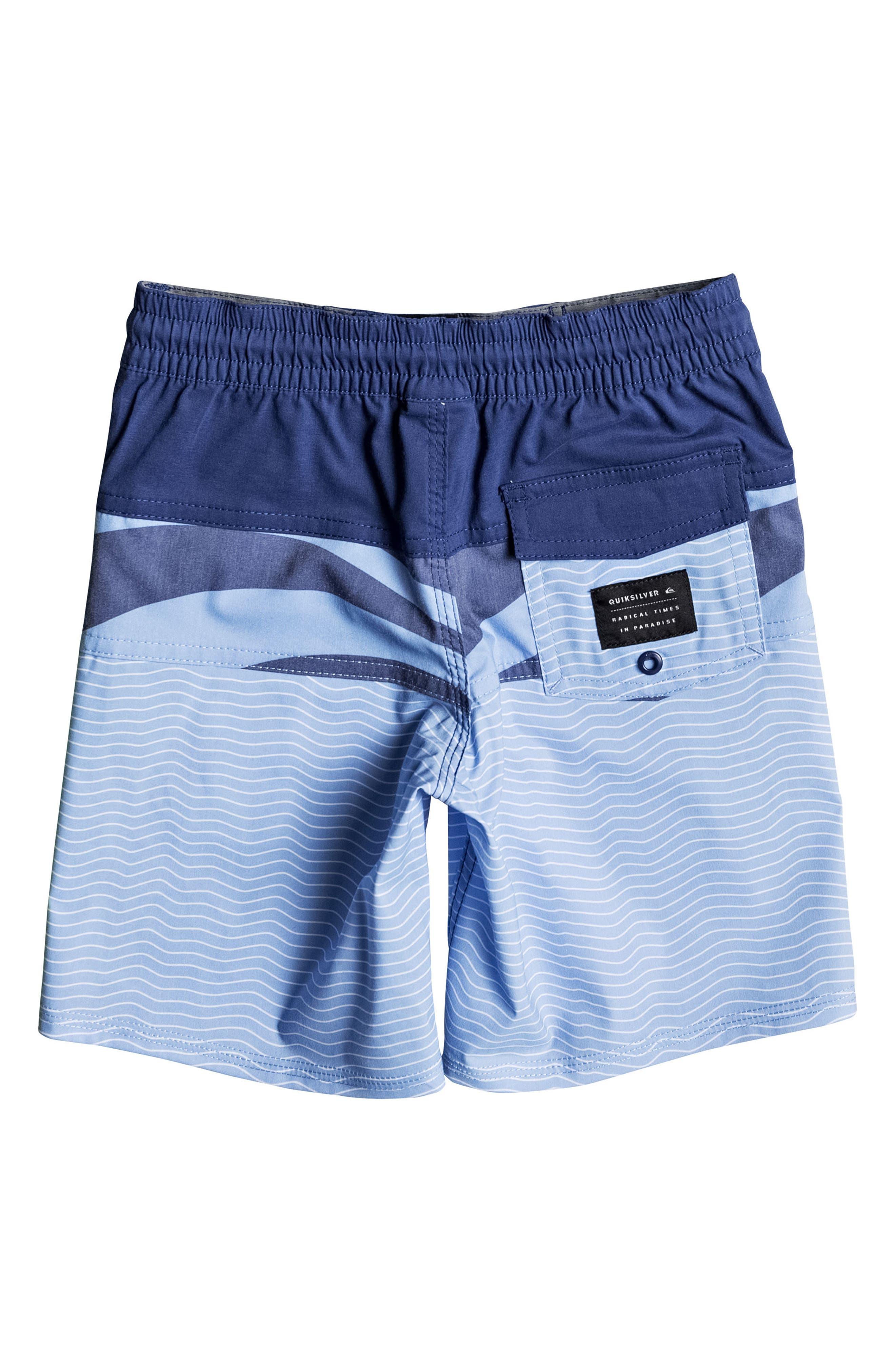 Heatwave Blocked Board Shorts,                             Alternate thumbnail 2, color,                             Estate Blue