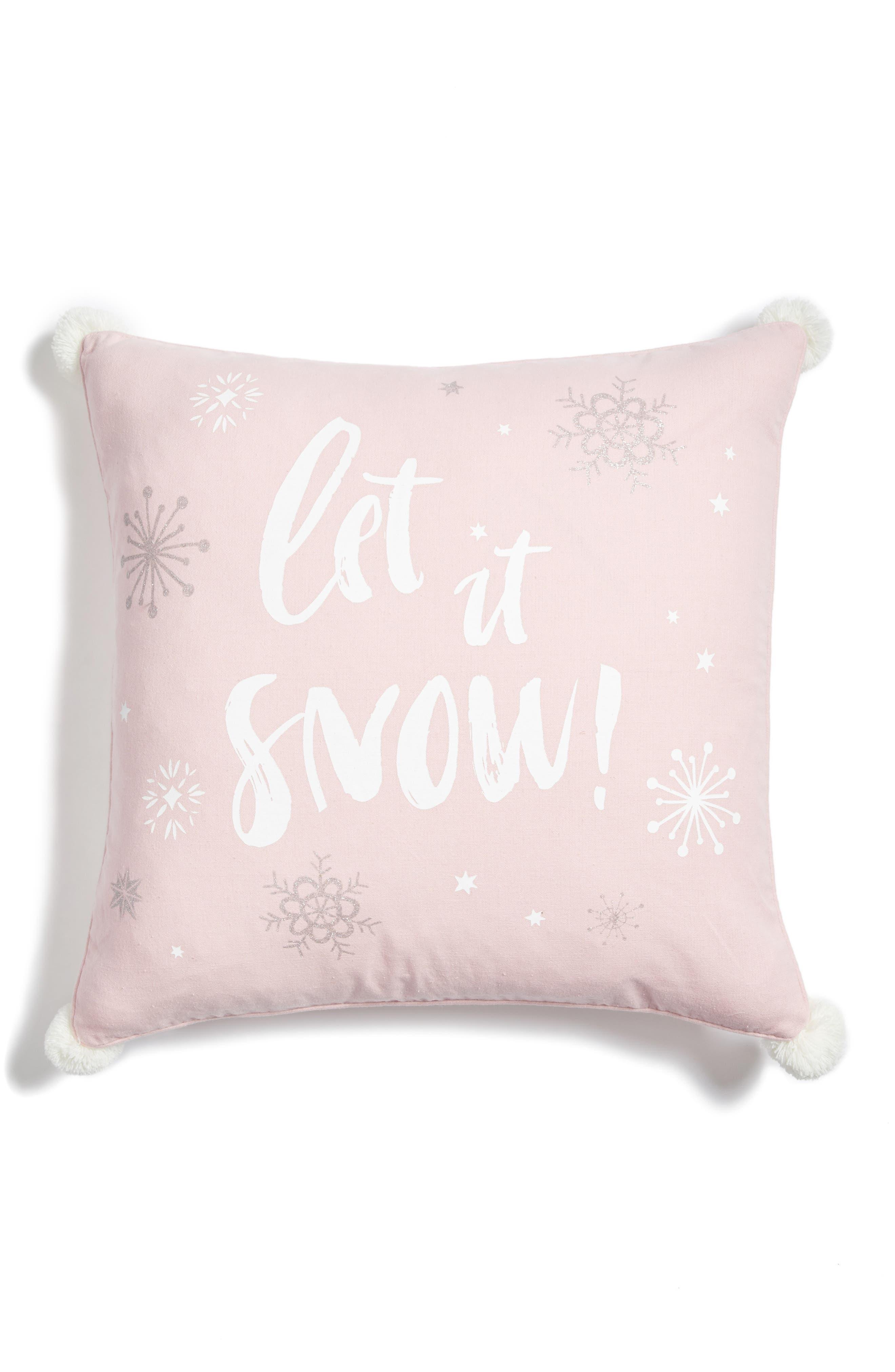 Levtex Let It Snow Pillow