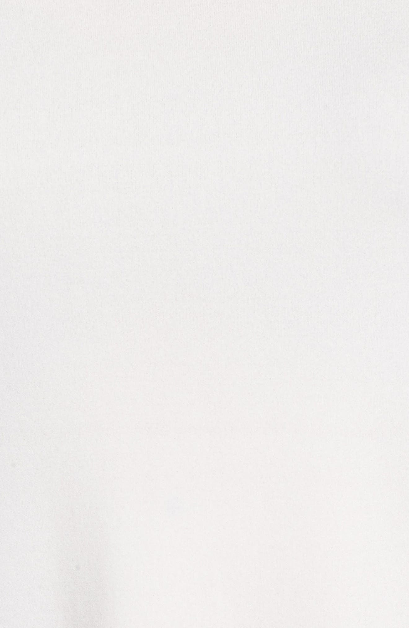 Scoop Neck Silk Tank,                             Alternate thumbnail 5, color,                             Soft White