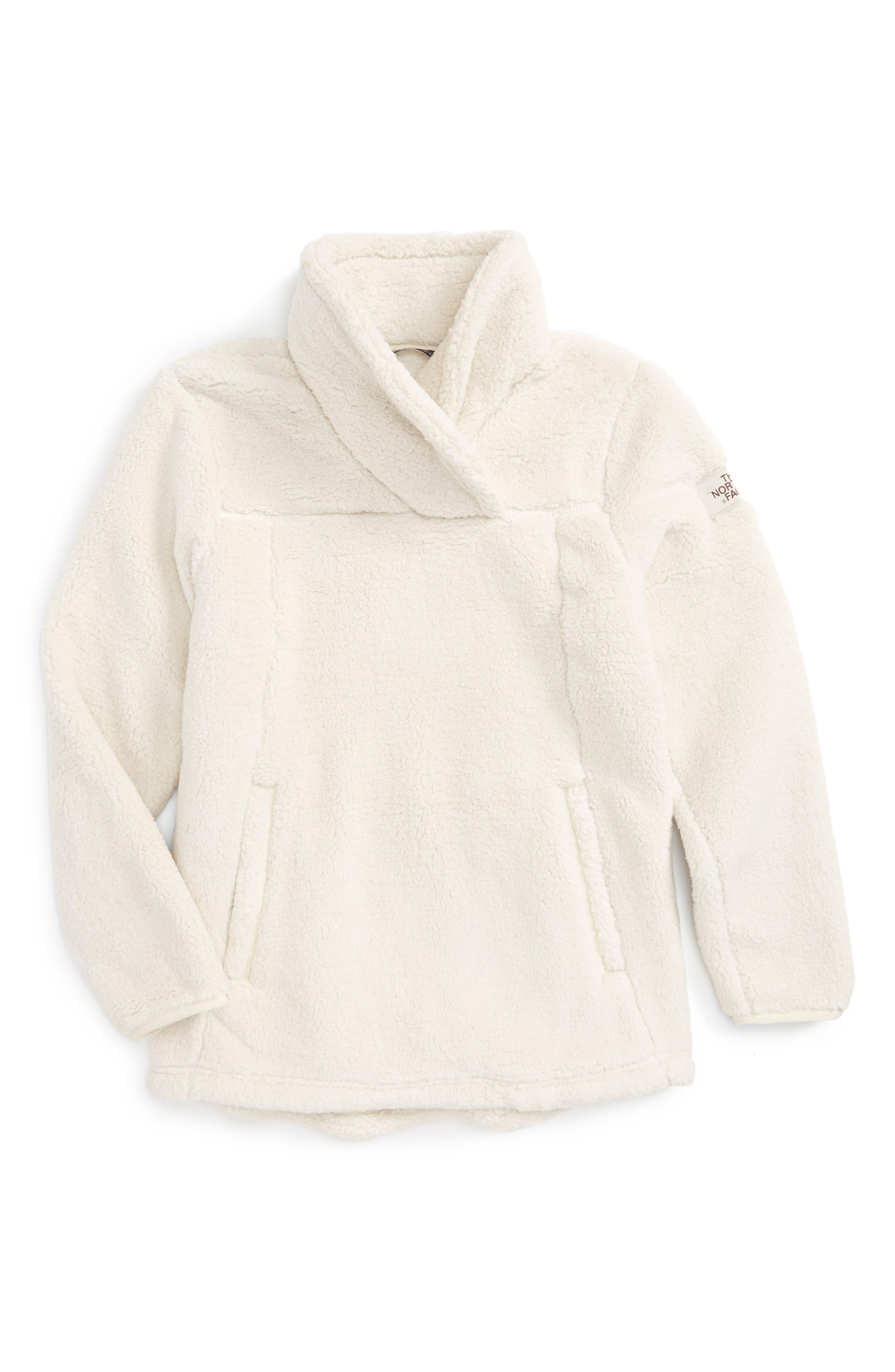 Khampfire Fleece Pullover,                             Main thumbnail 1, color,                             Vintage White