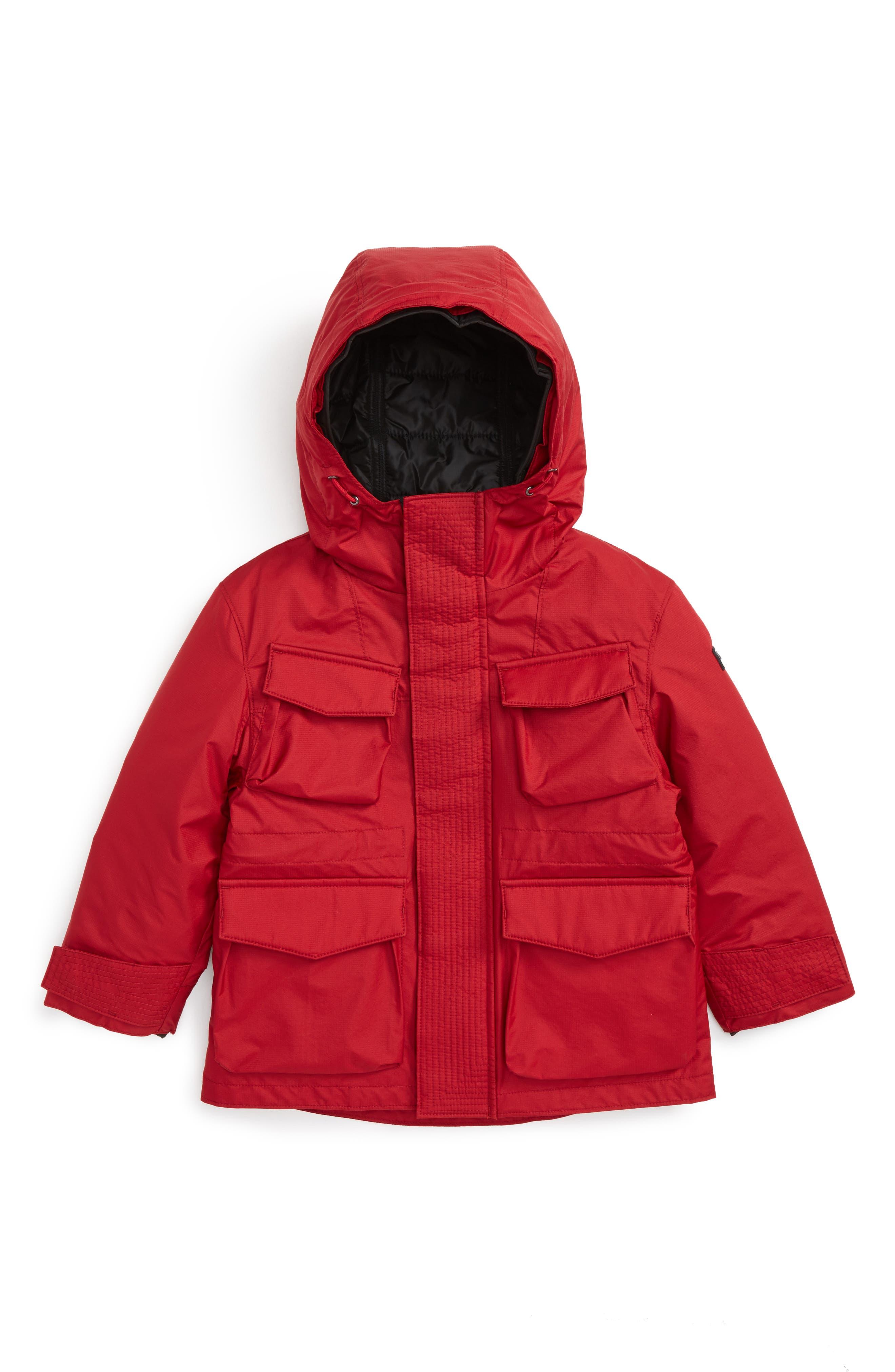 Terrick 3-in-1 Jacket,                             Main thumbnail 1, color,                             Parade Red
