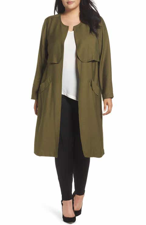 Women's Plus Size Long Coats can be purchased in assorted materials and colors. Make your decision from many styles such as basic coat. Women's Plus Size Long Coats come in black and other colors. You can view new or pre-owned women's coats and jackets on eBay and score a great deal.