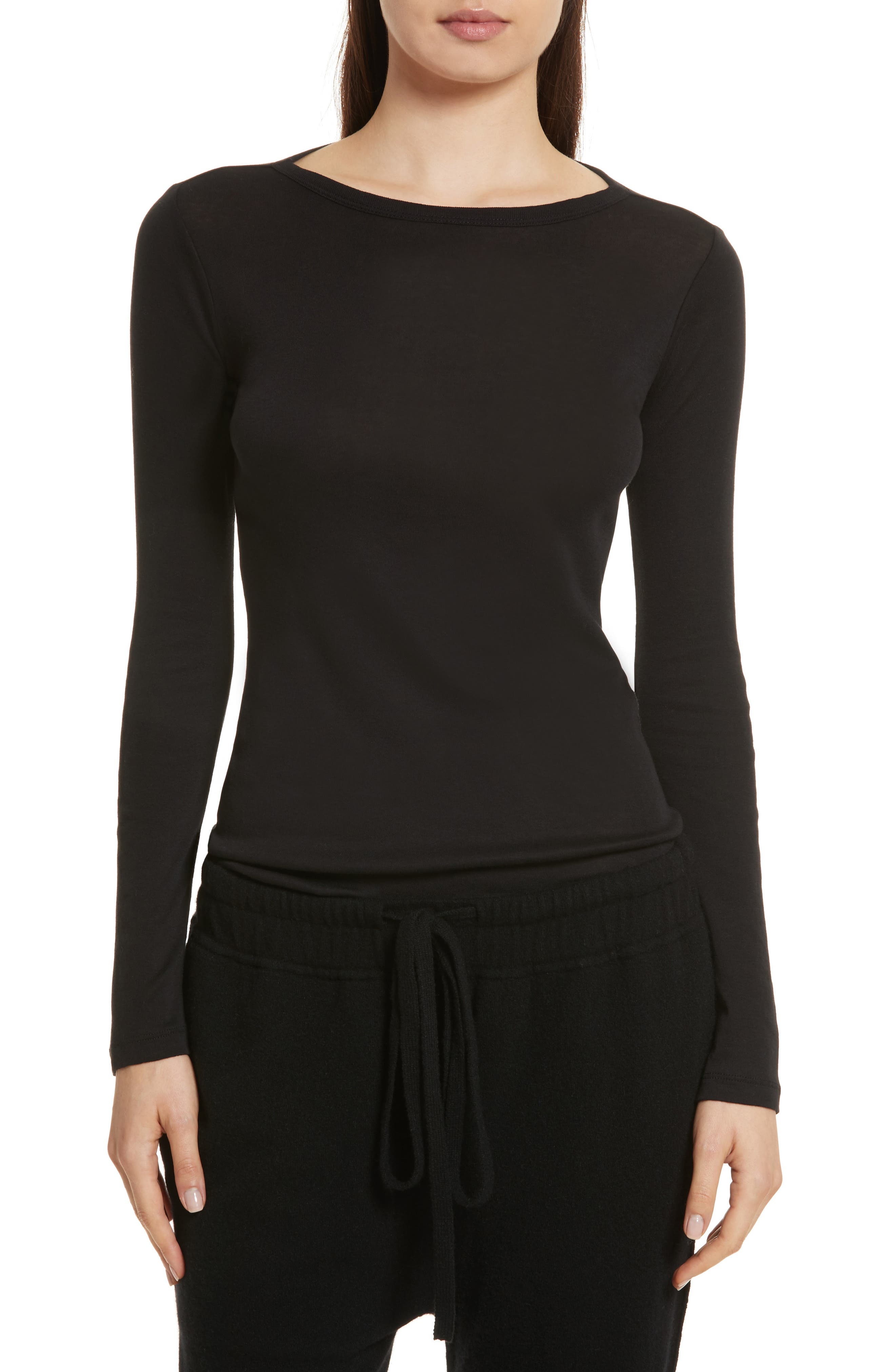Vince Shirttail Top