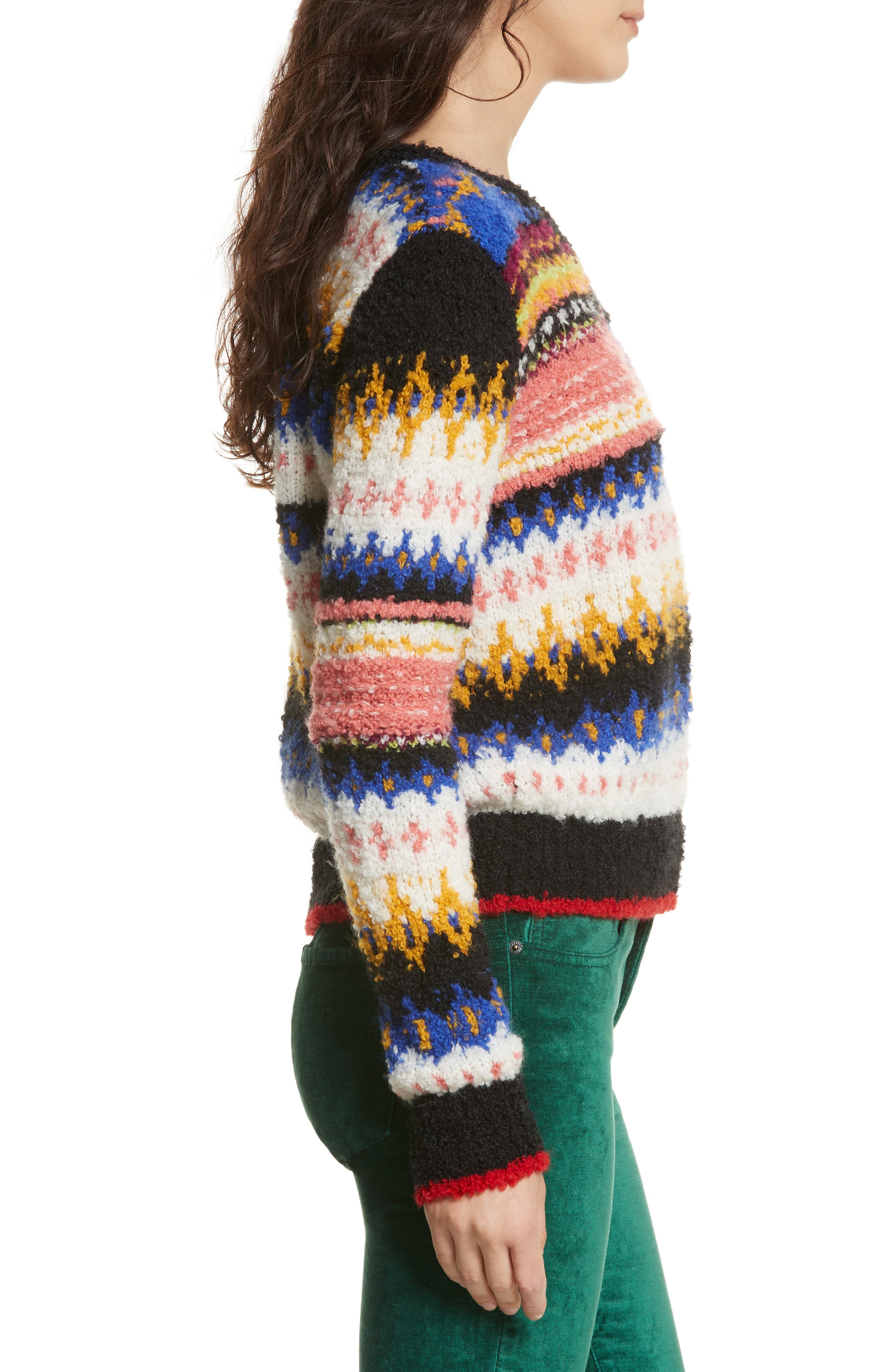 Best Day Ever Sweater,                             Alternate thumbnail 3, color,                             Multi