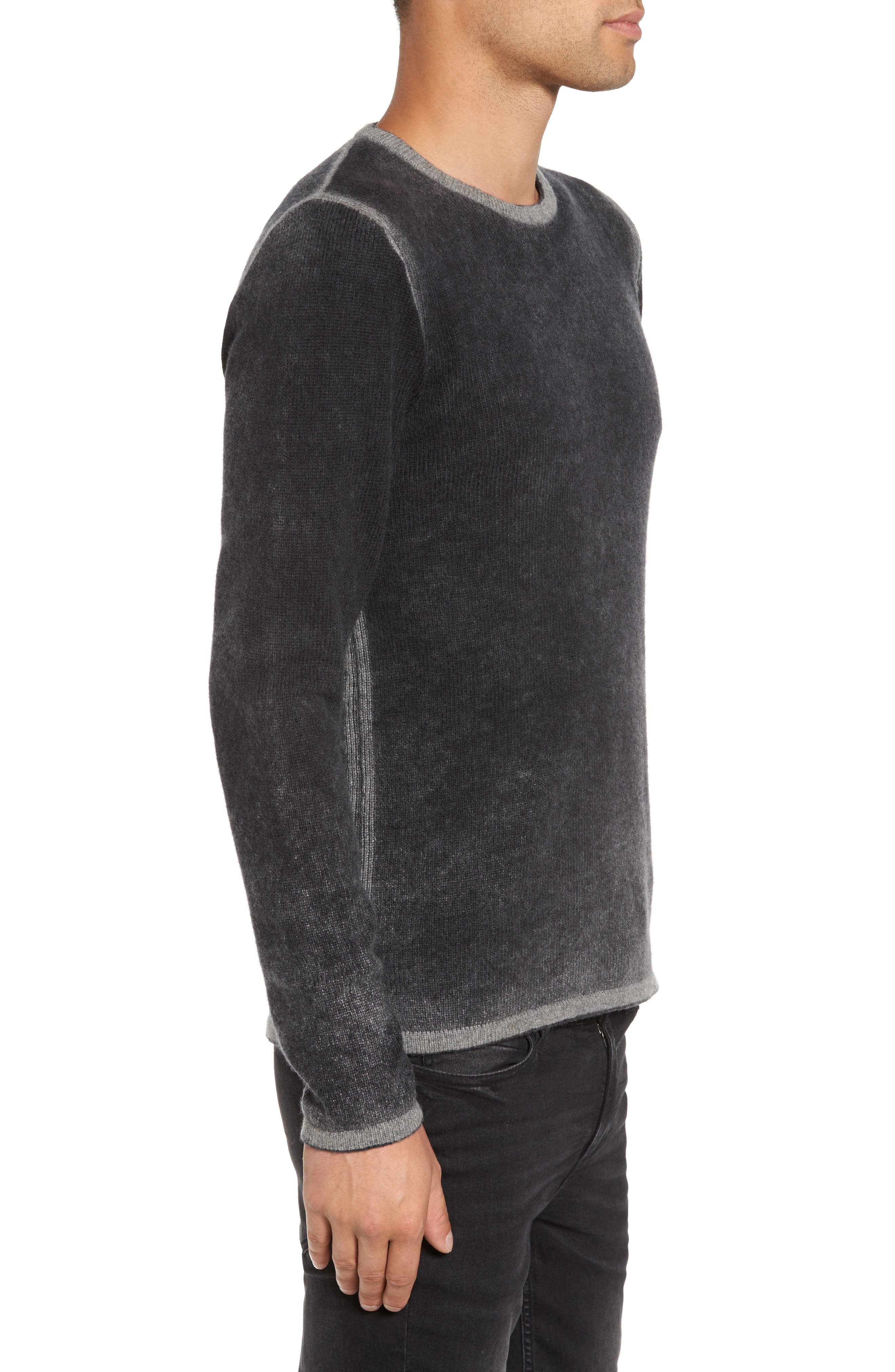Alternate Image 3  - John Varvatos Star USA Drop Shoulder Sweater