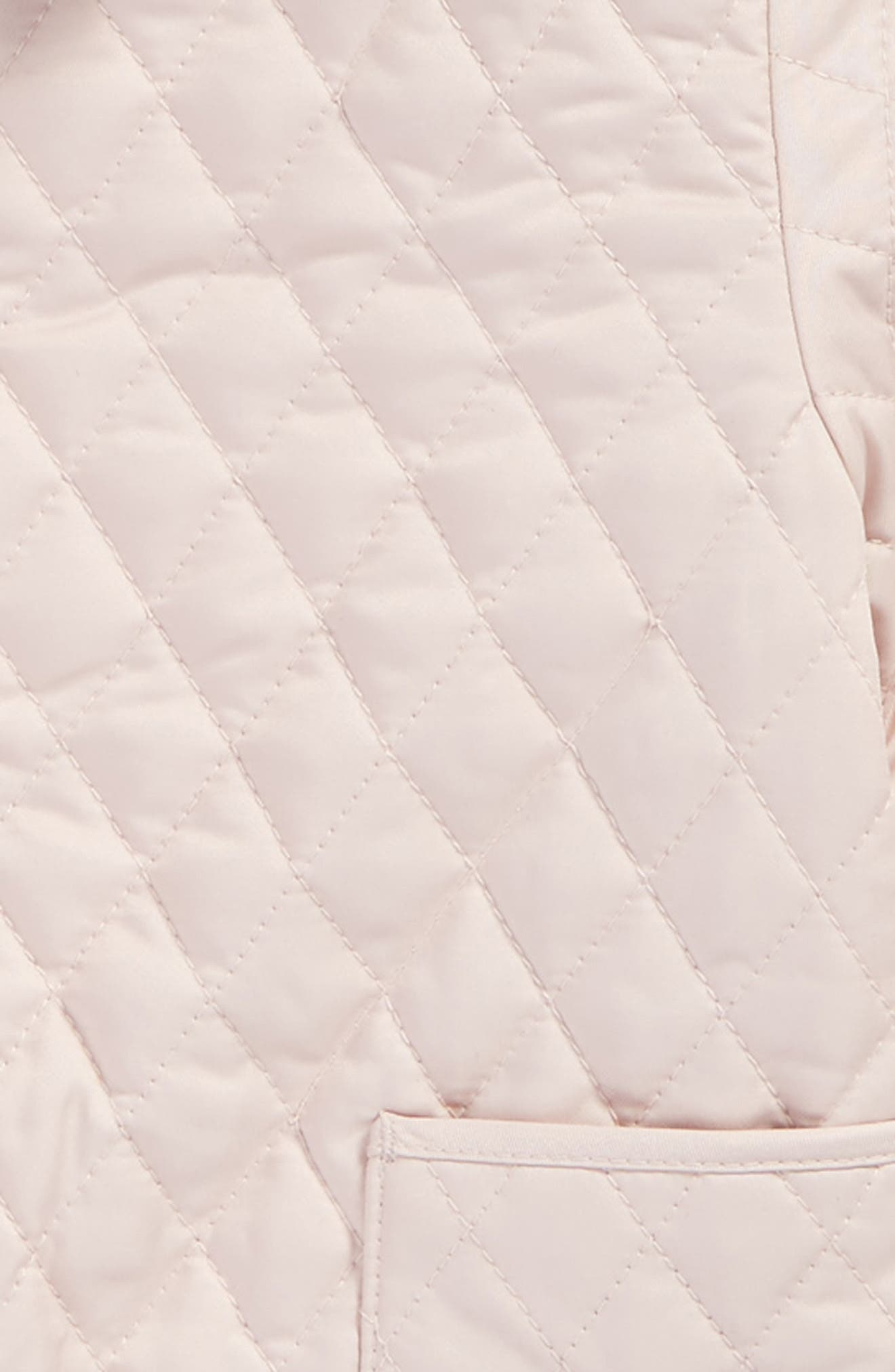 Alternate Image 2  - Burberry Colin Quilted Jacket (Baby Girls)