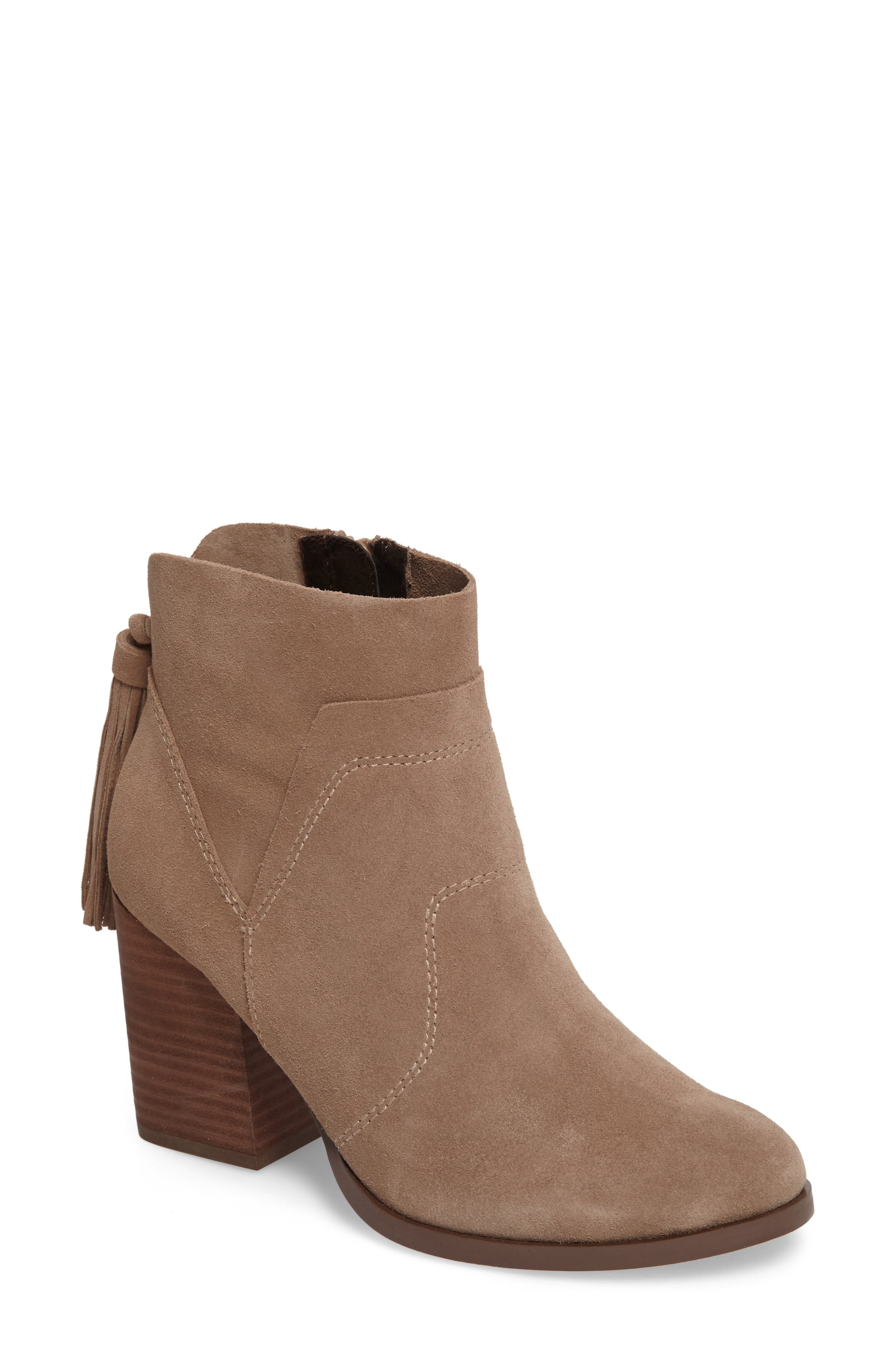 Ambrose Bootie,                         Main,                         color, Taupe