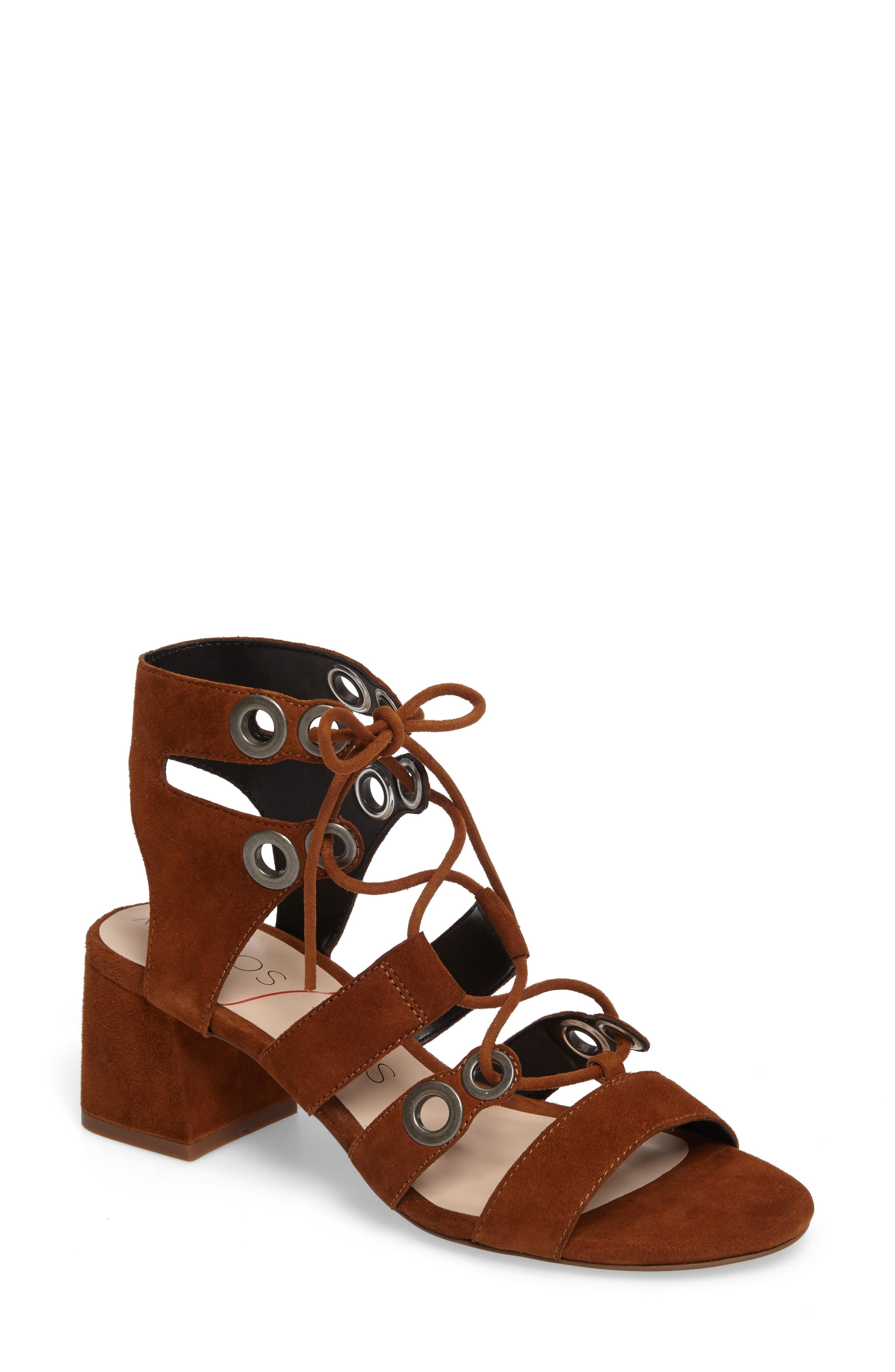 Alternate Image 1 Selected - Sole Society Rosemary Lace-Up Sandal (Women)