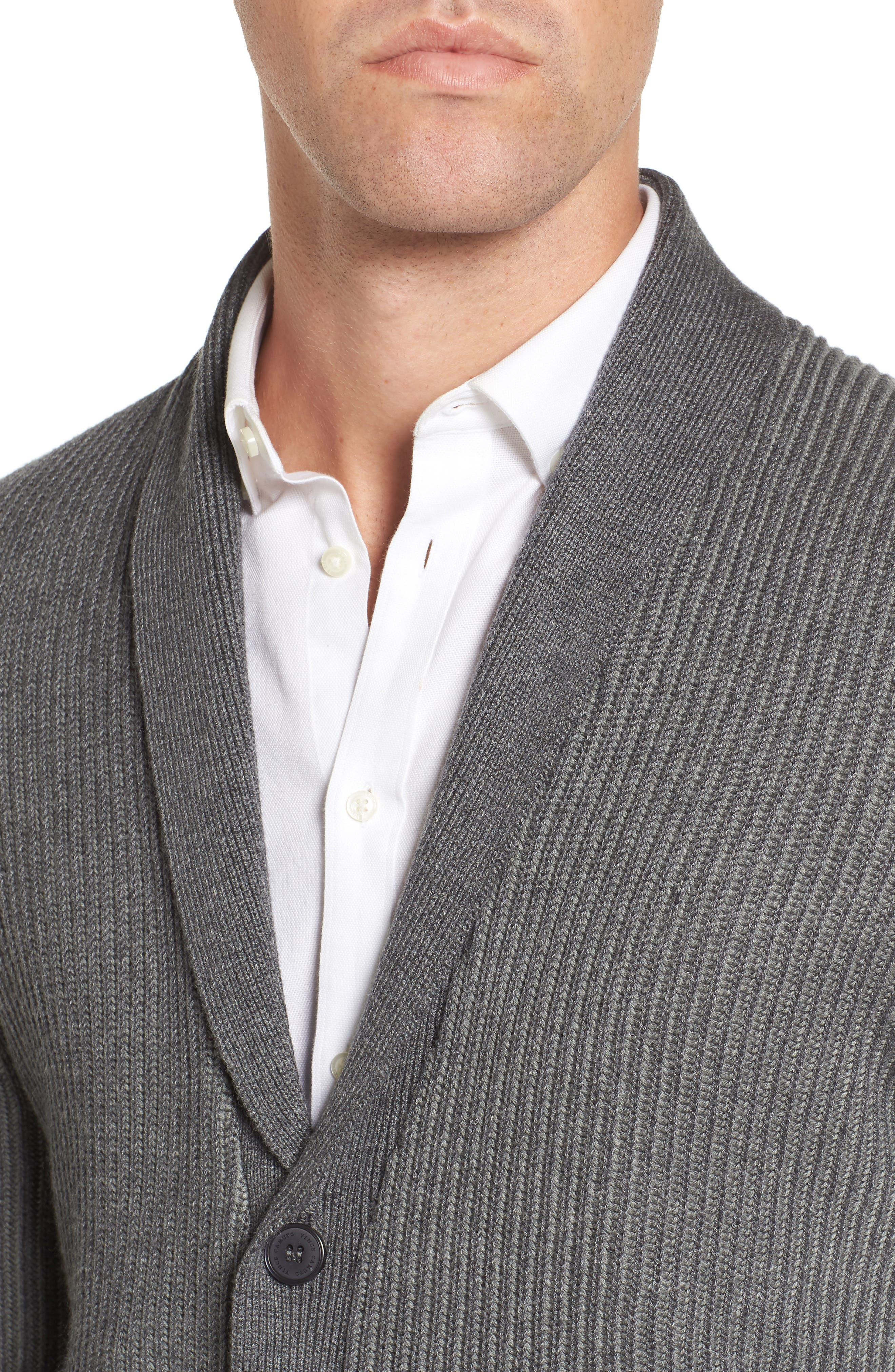 Alternate Image 4  - Vince Camuto Slim Shawl Collar Cardigan