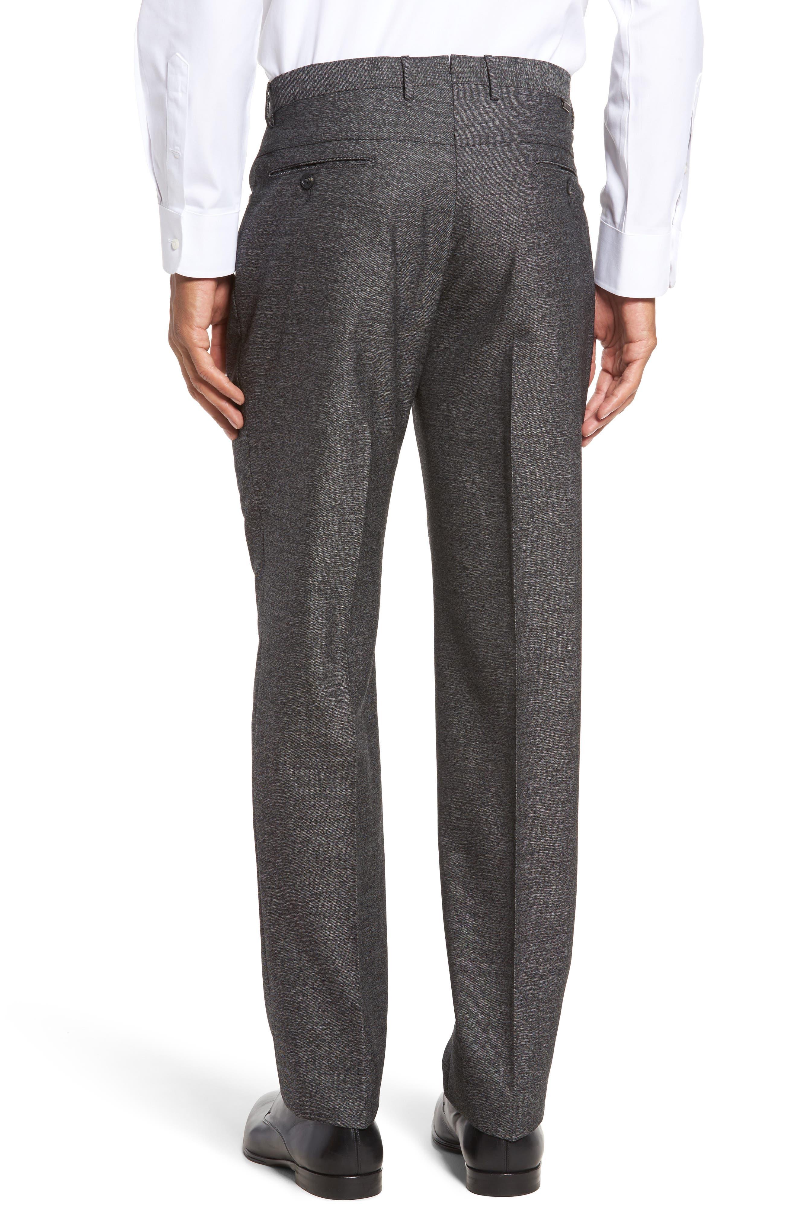 Sartorial Wool Five-Pocket Pants,                             Alternate thumbnail 2, color,                             Grey