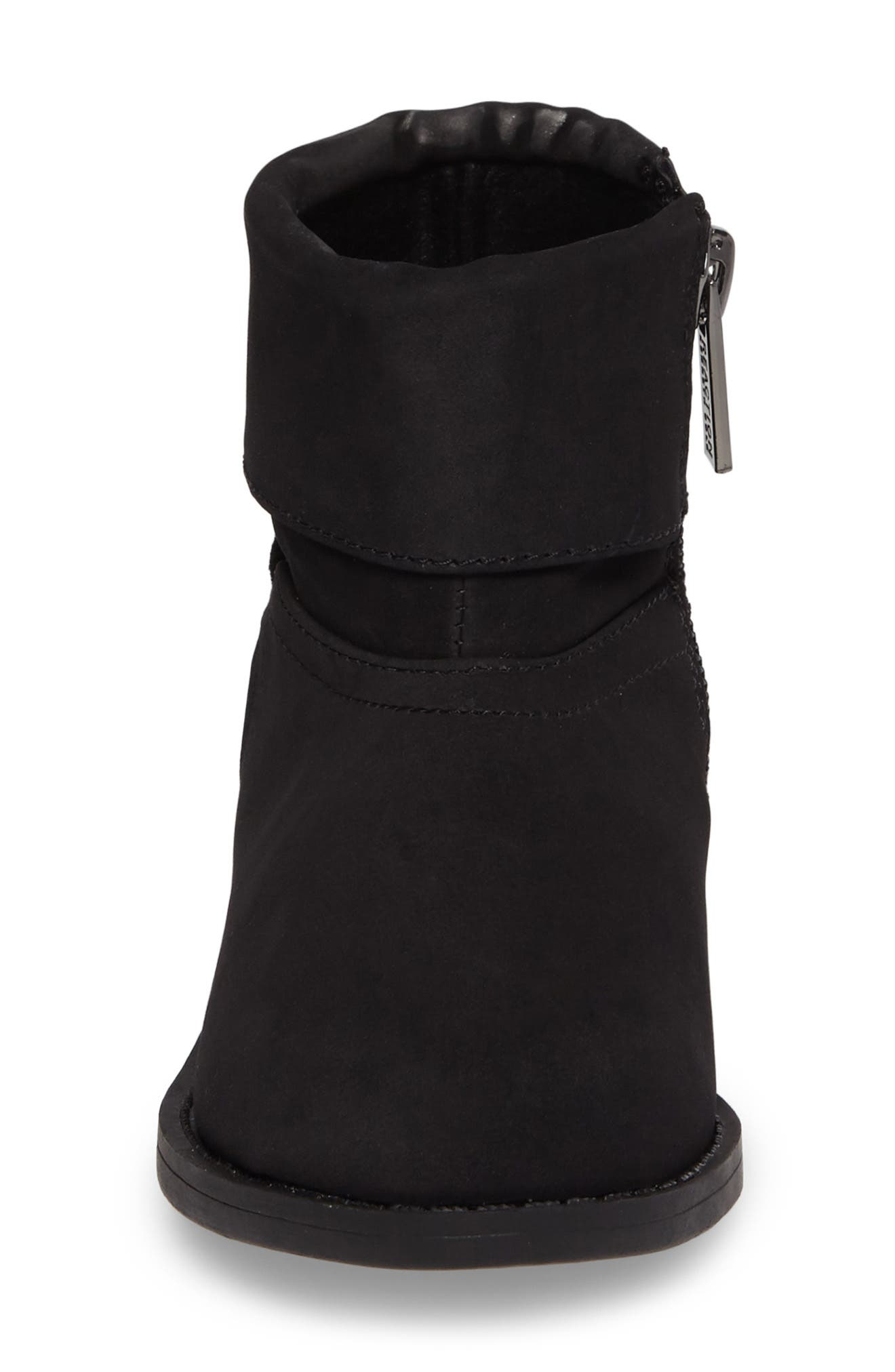 Wild Star Studded Bootie,                             Alternate thumbnail 4, color,                             Black