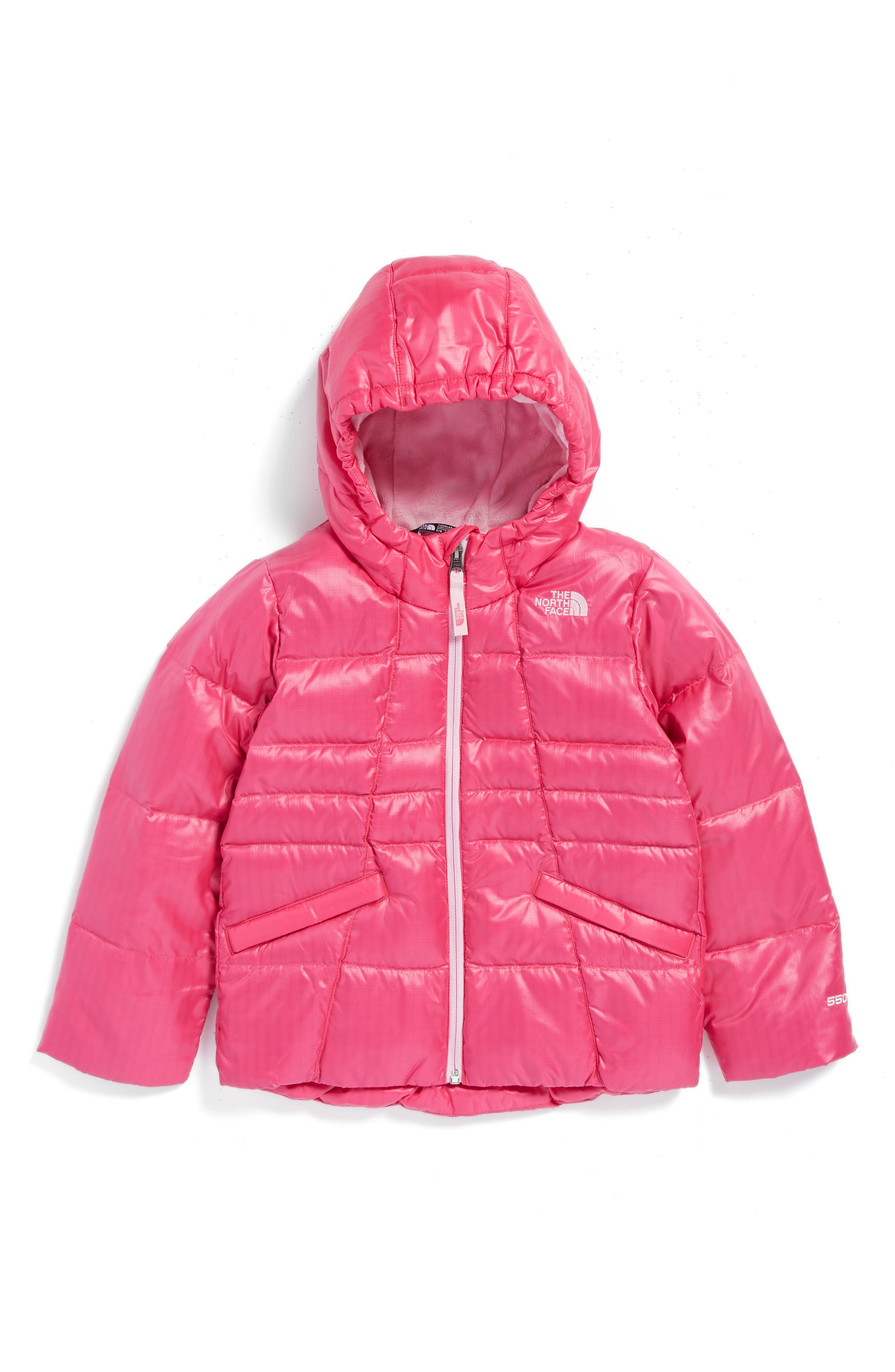 The North Face Moondoggy 2.0 Water Repellent Jacket (Toddler Girls)