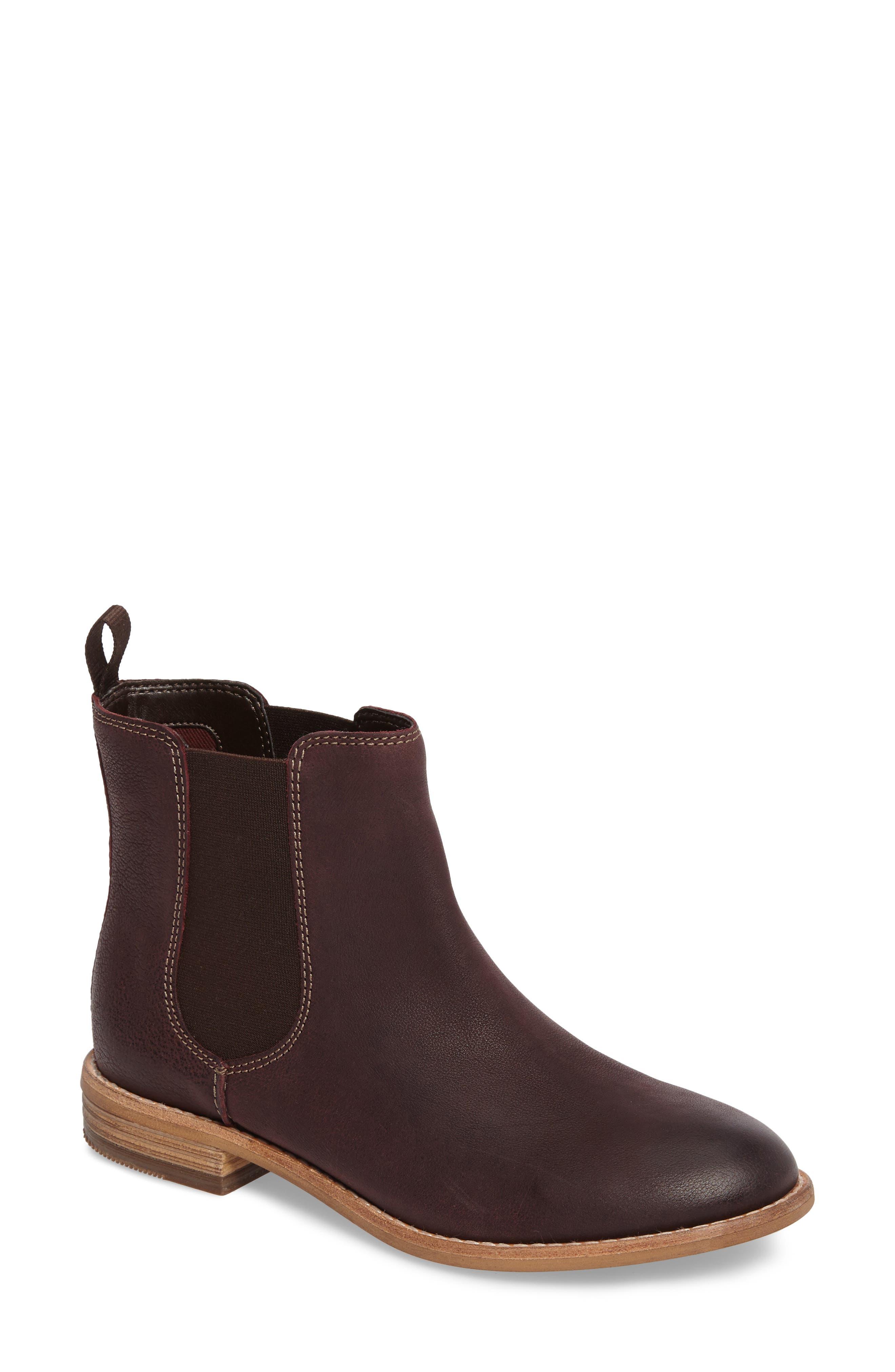Maypearl Nala Bootie,                         Main,                         color, Burgundy Leather