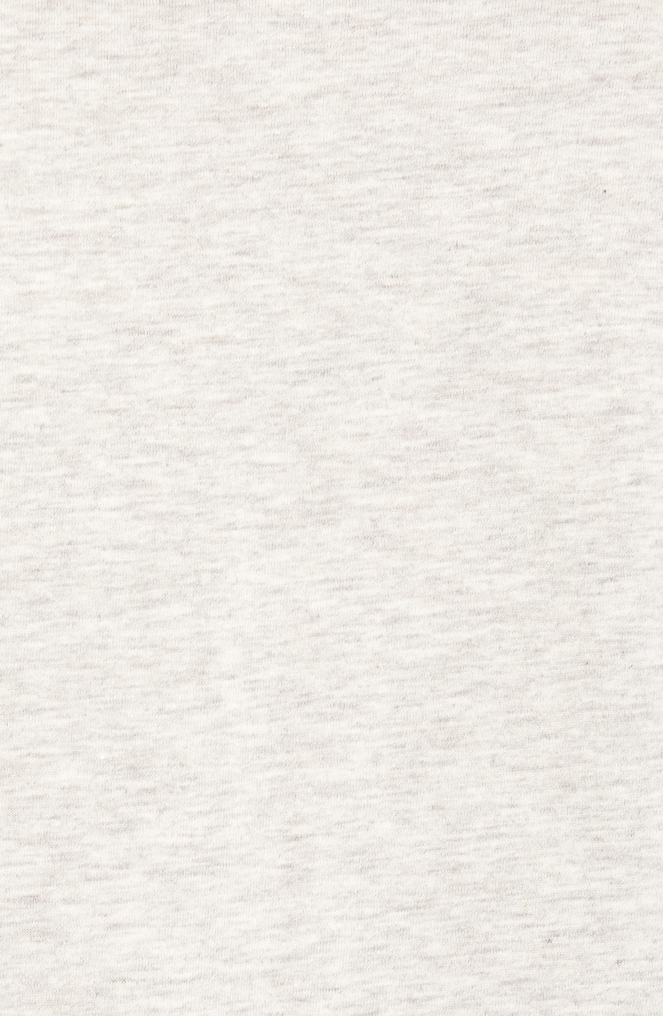 Stefan Raglan T-Shirt,                             Alternate thumbnail 6, color,                             Seal Heather/ Black Bear