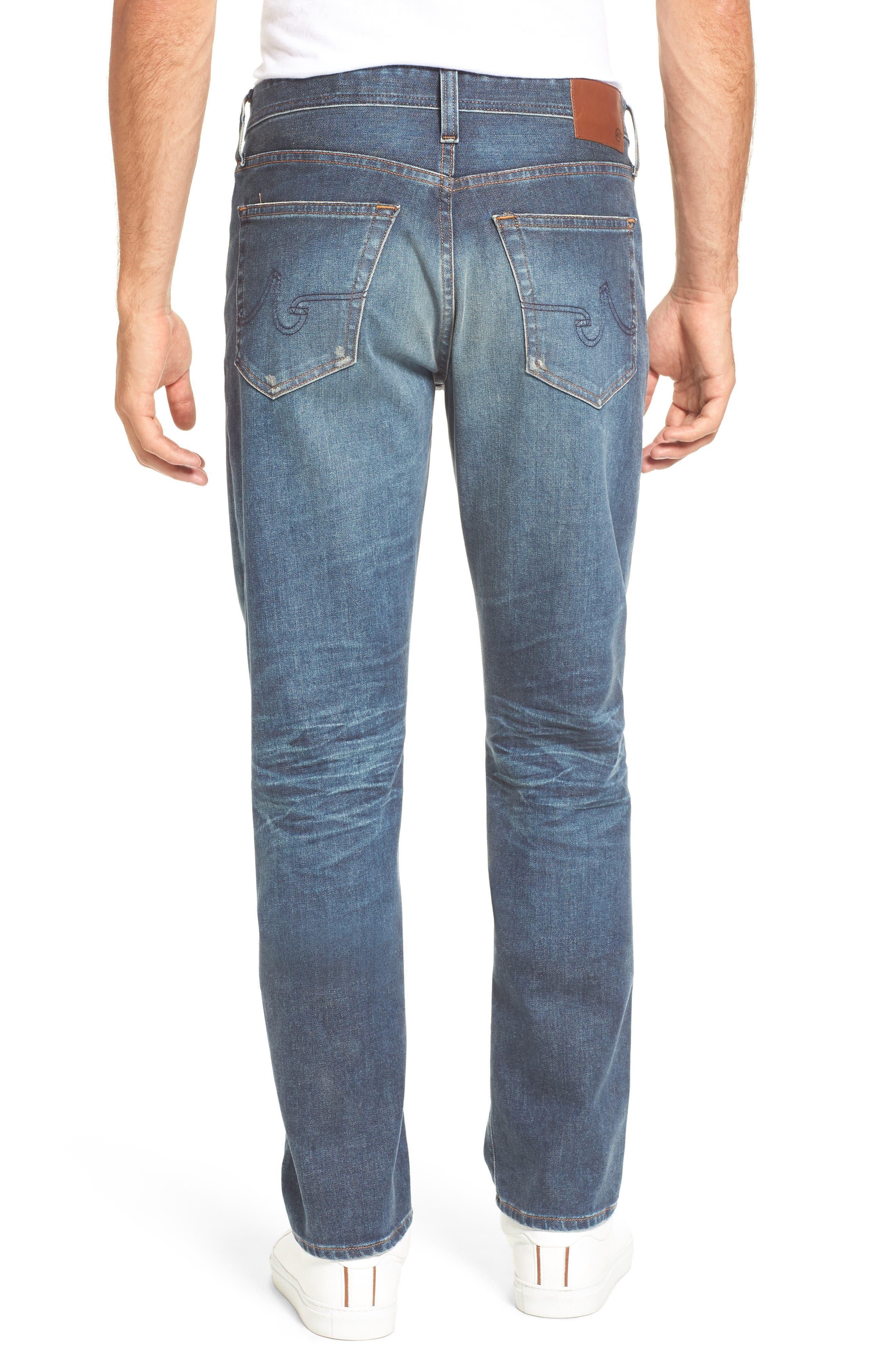 Alternate Image 2  - AG Everett Slim Straight Leg Jeans (12 Years River Veil)