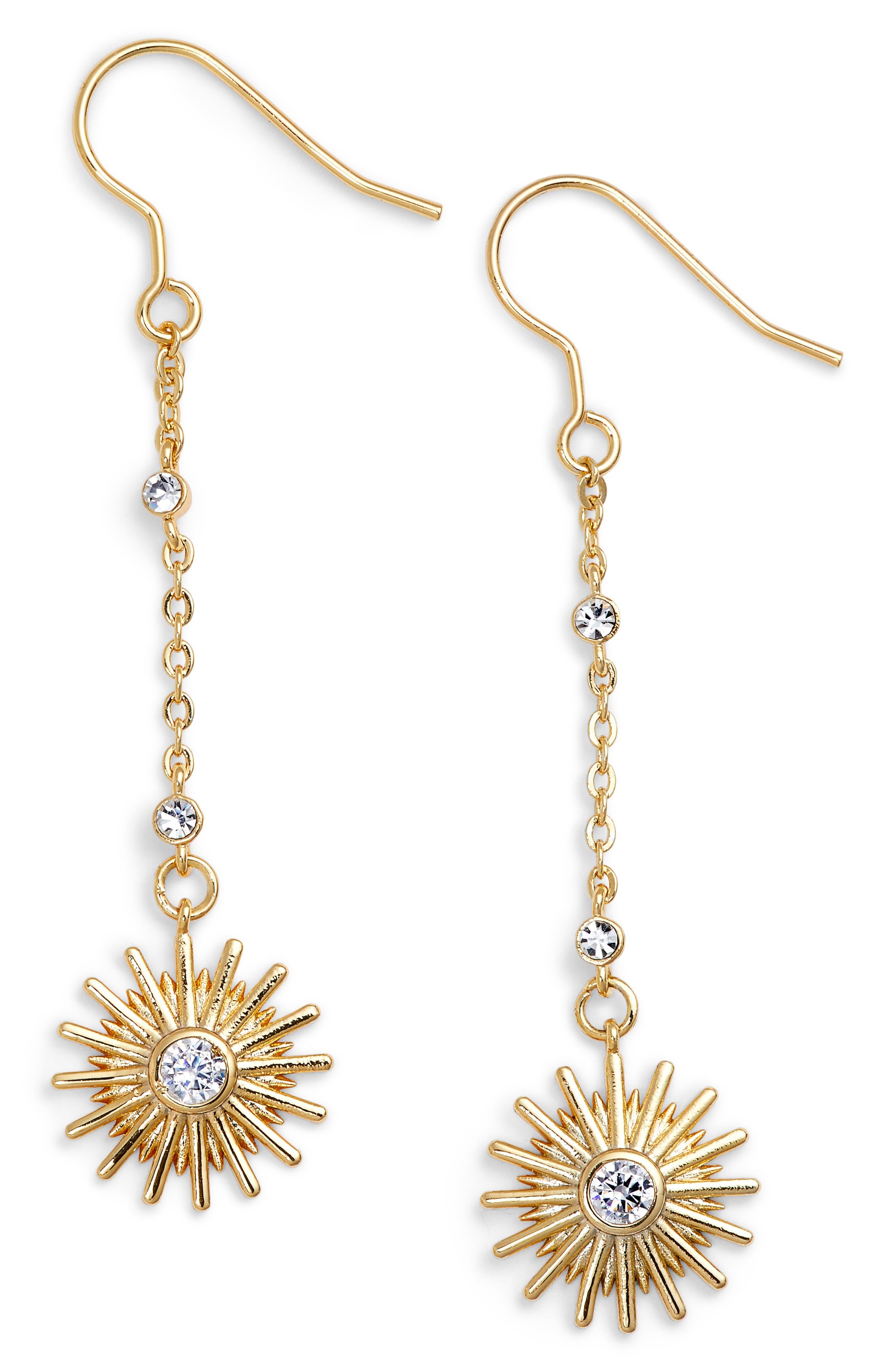 Jules Smith Starburst Drop Earrings