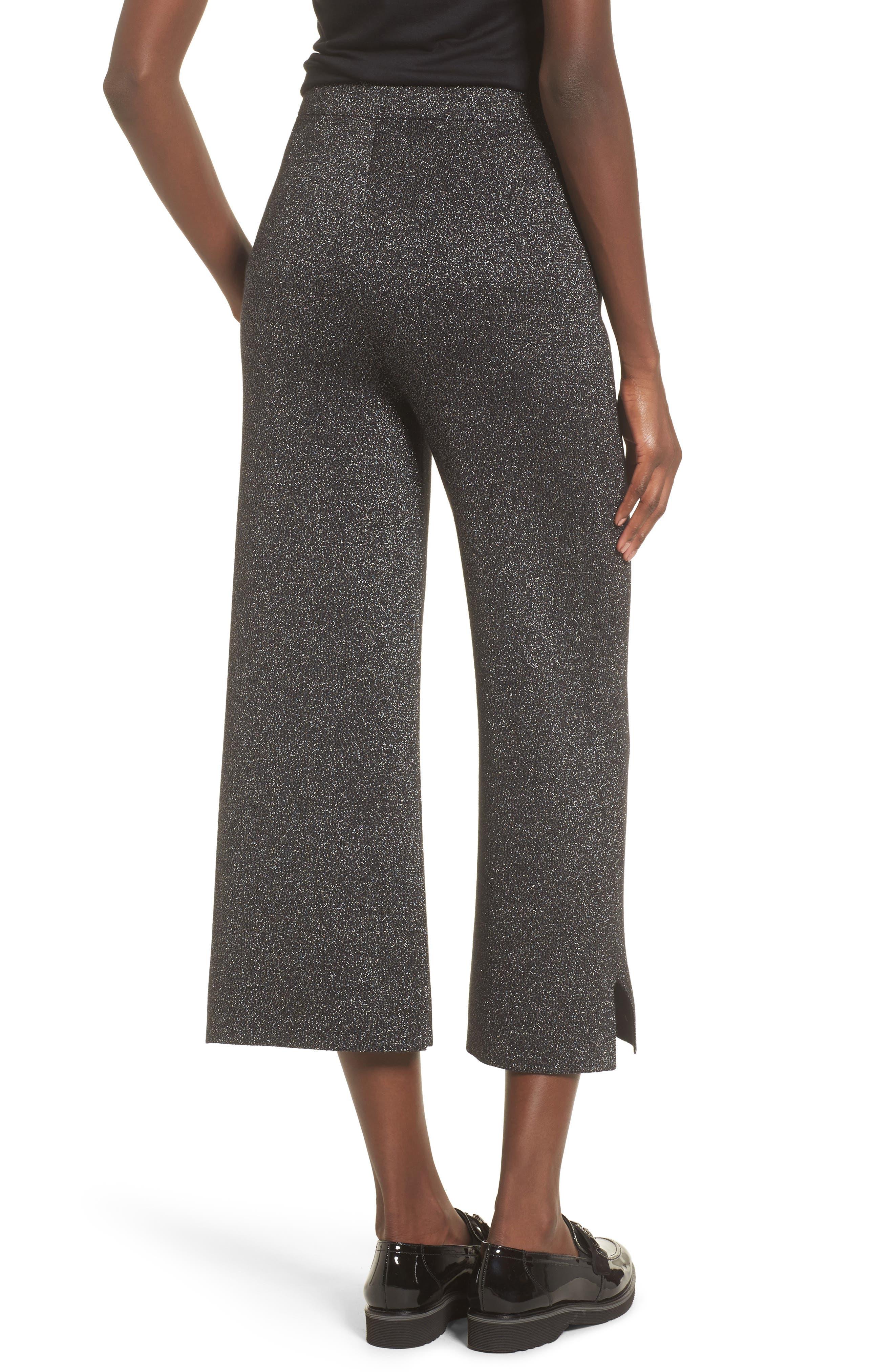 Alternate Image 3  - Leith Metallic Crop Pants