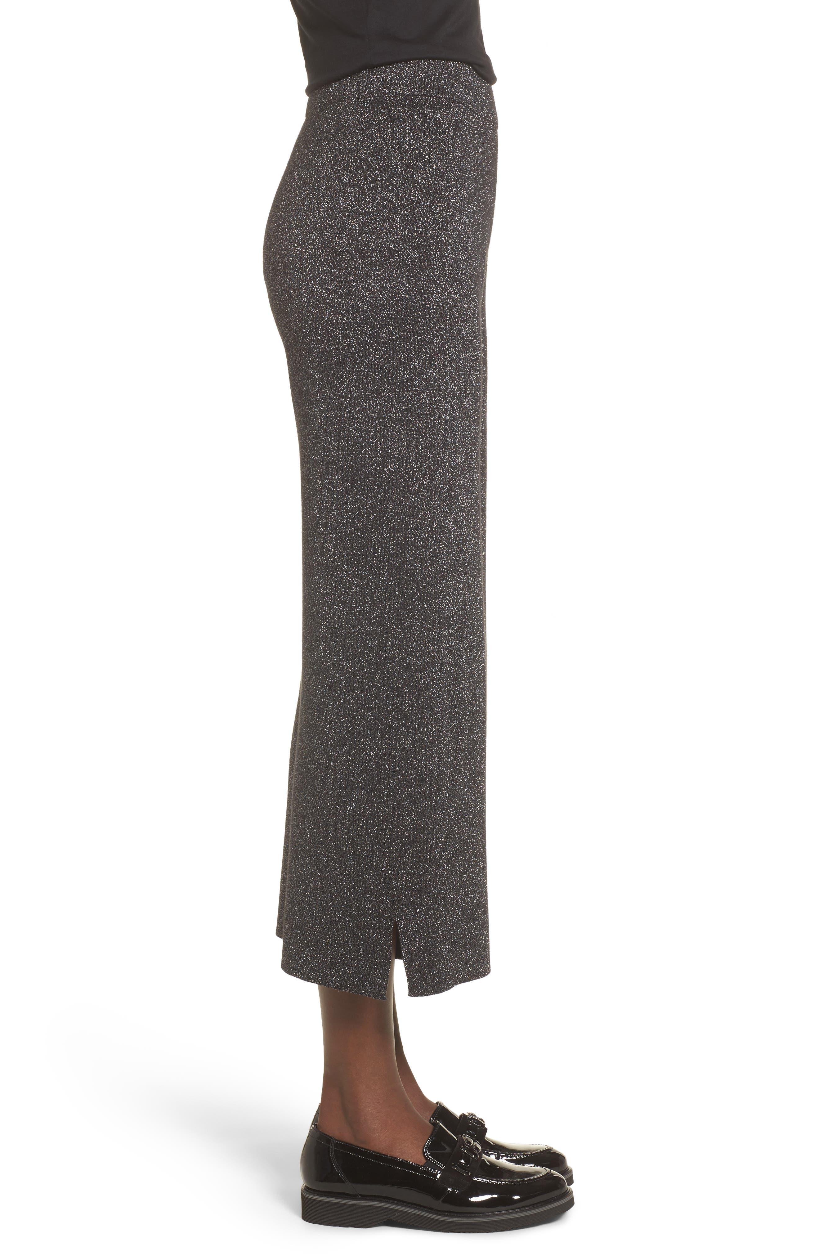 Alternate Image 4  - Leith Metallic Crop Pants
