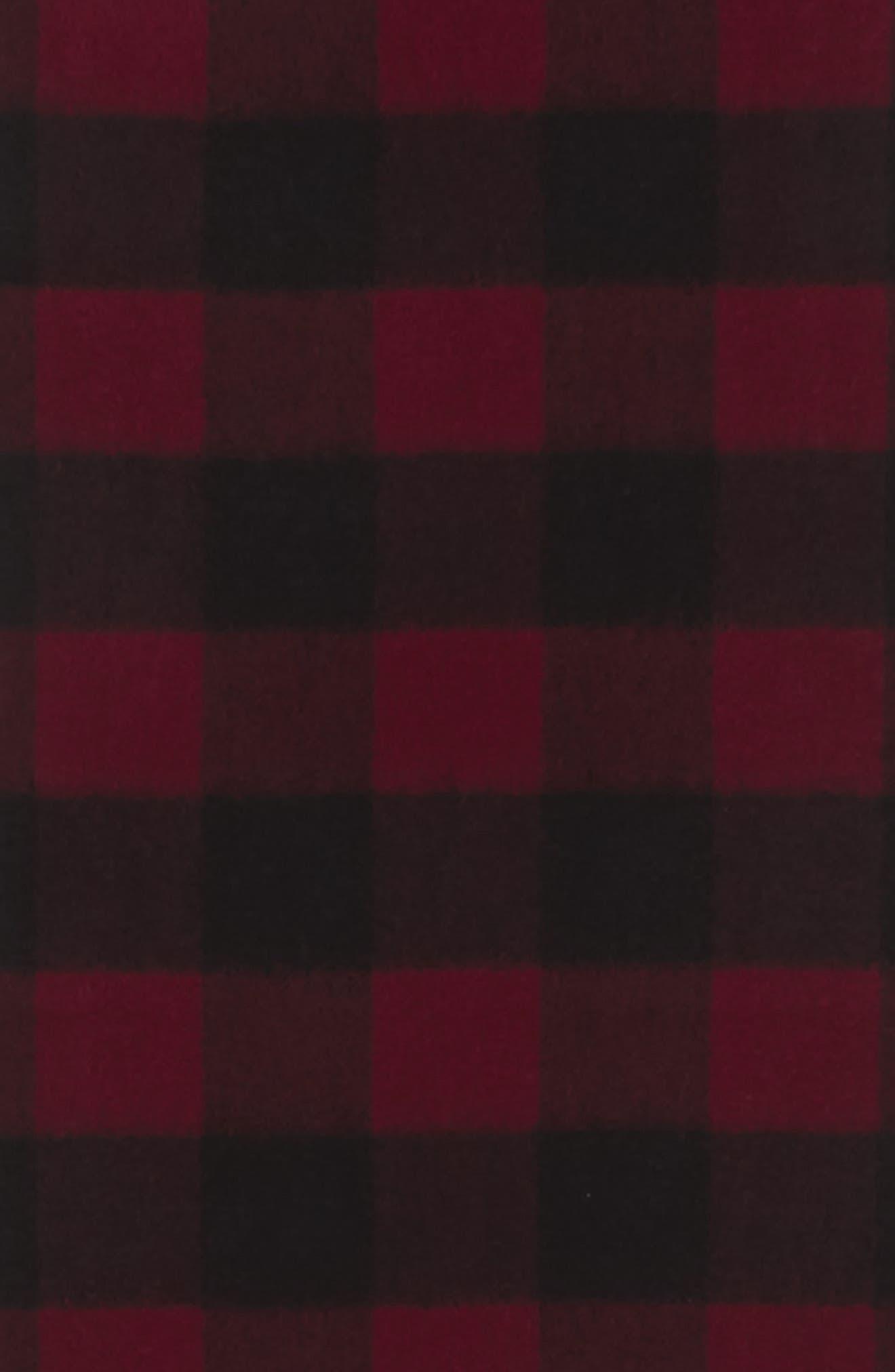 Alternate Image 3  - Nordstrom Men's Shop Check Cashmere Scarf