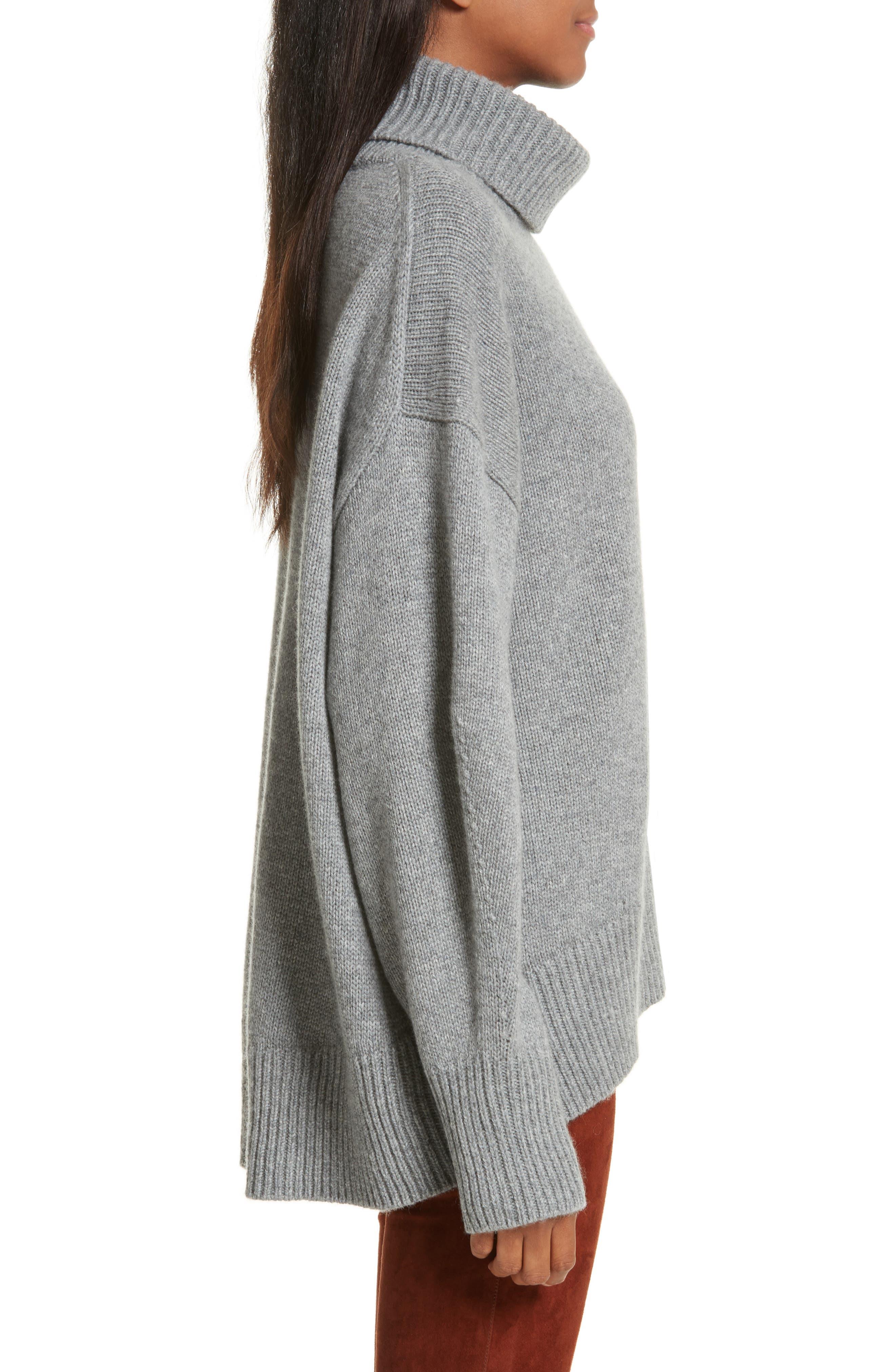 Alternate Image 3  - JOSEPH Turtleneck Cashmere Sweater