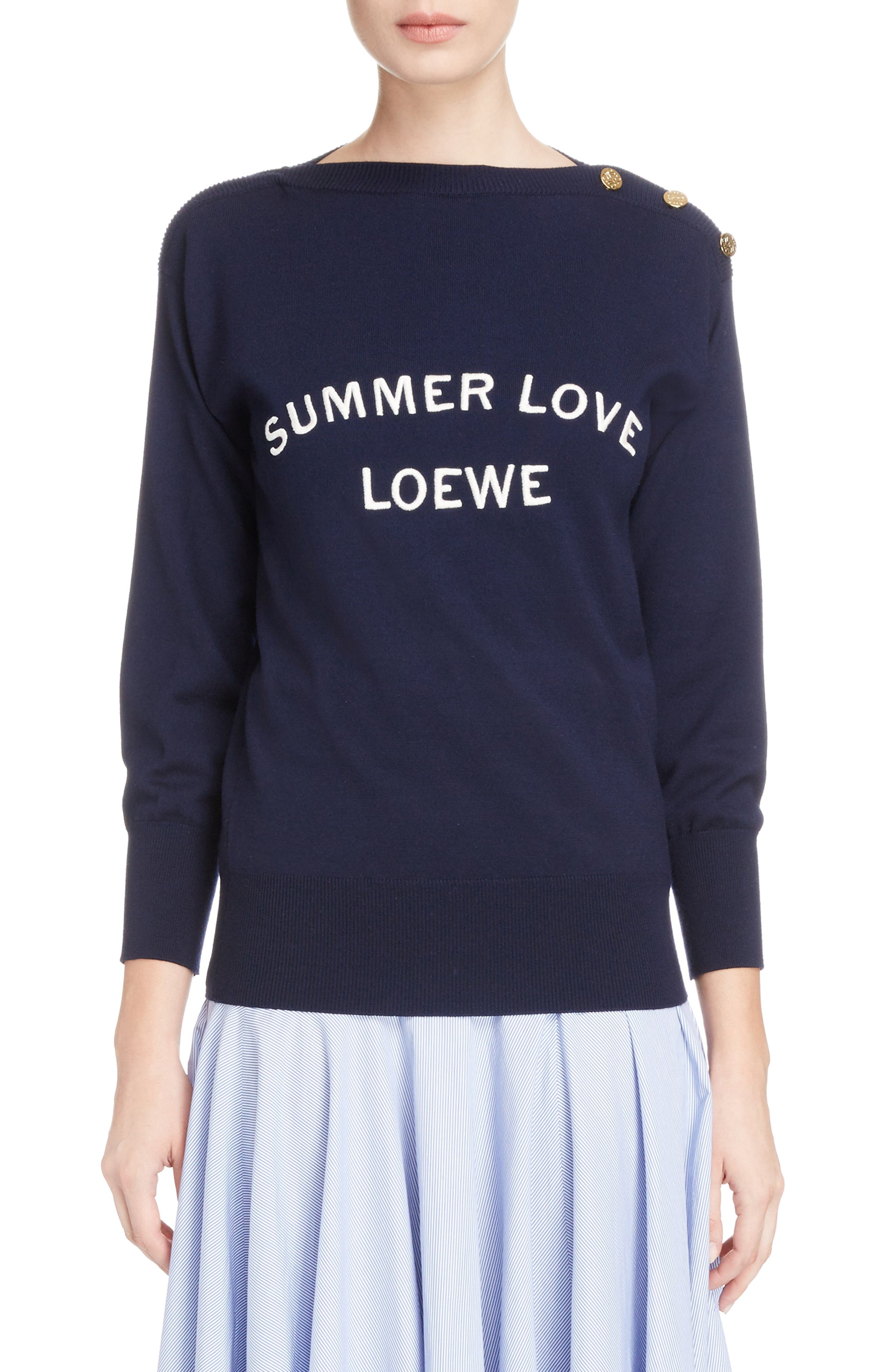 Loewe Summer Love Boatneck Sweater
