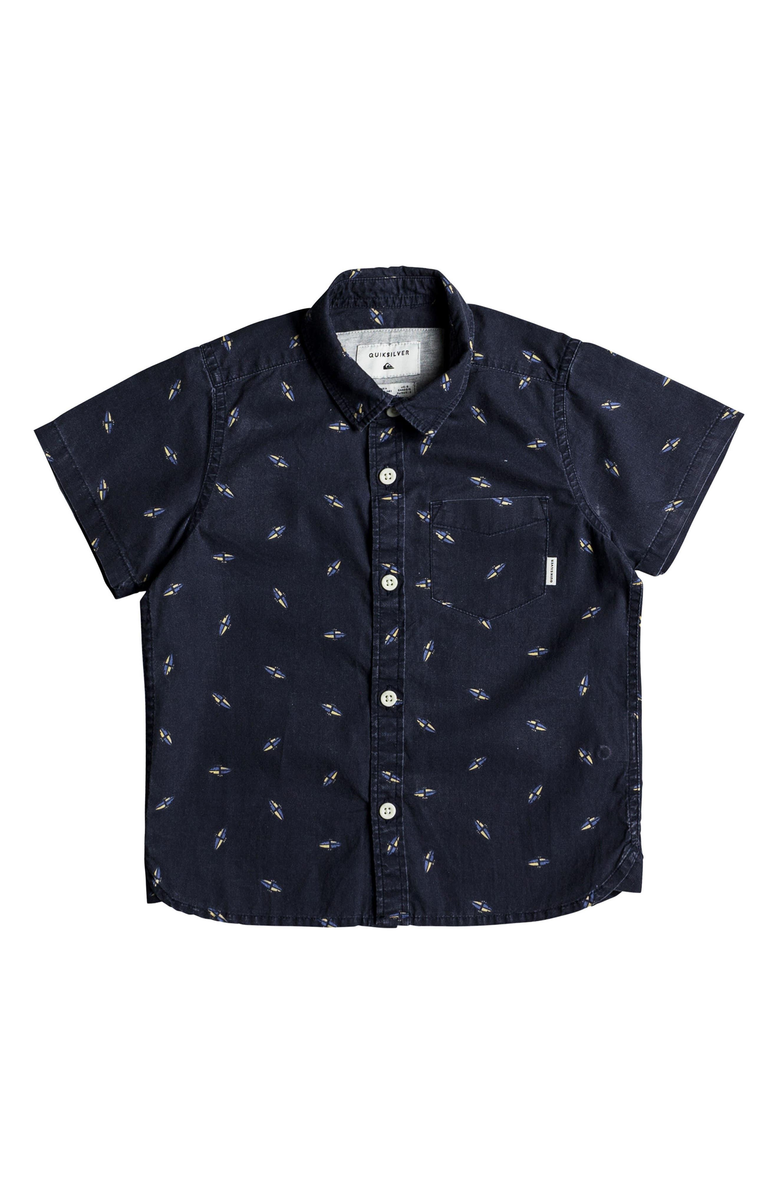 Boredsnap Woven Shirt,                         Main,                         color, Navy Boredsnap