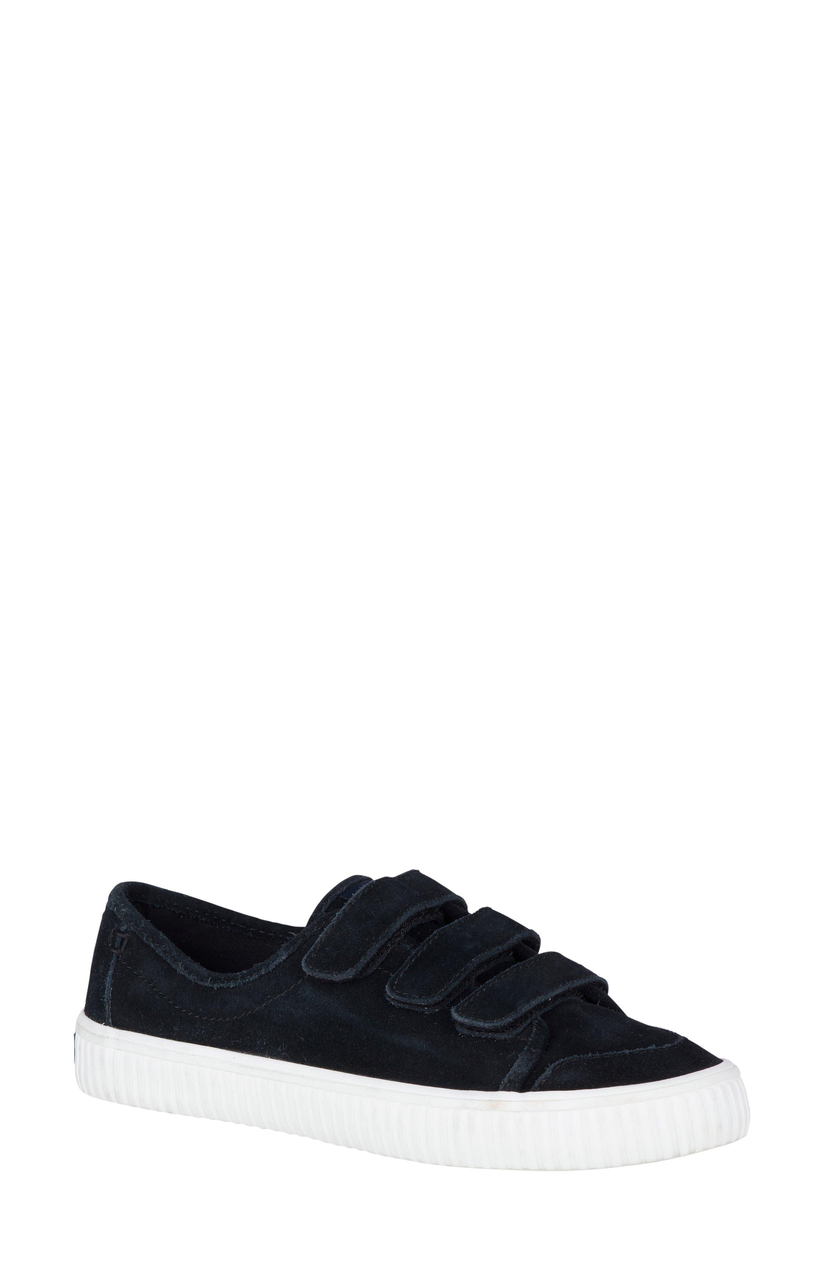 Creeper Sneaker,                             Main thumbnail 1, color,                             Black Suede