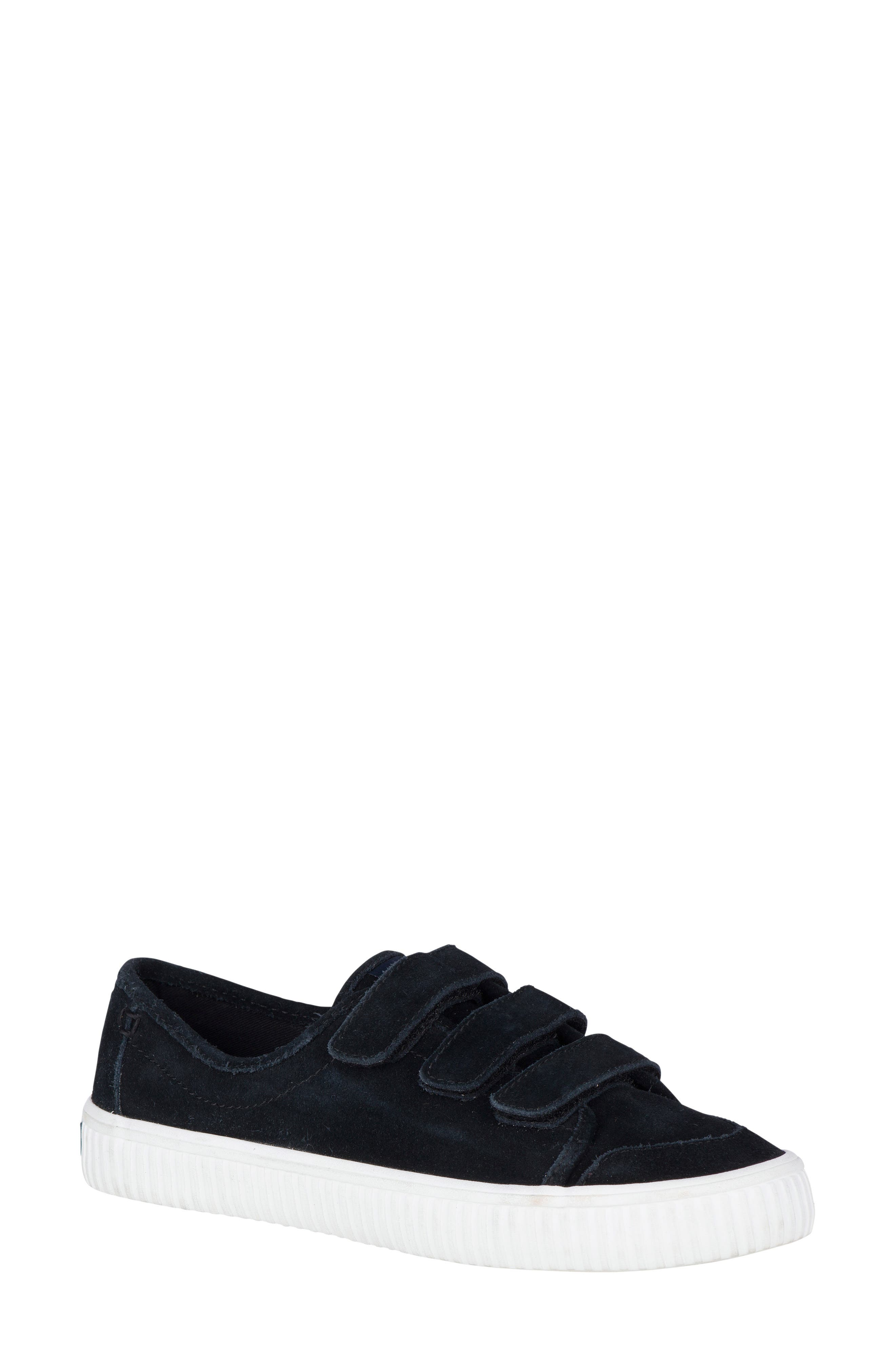Creeper Sneaker,                         Main,                         color, Black Suede