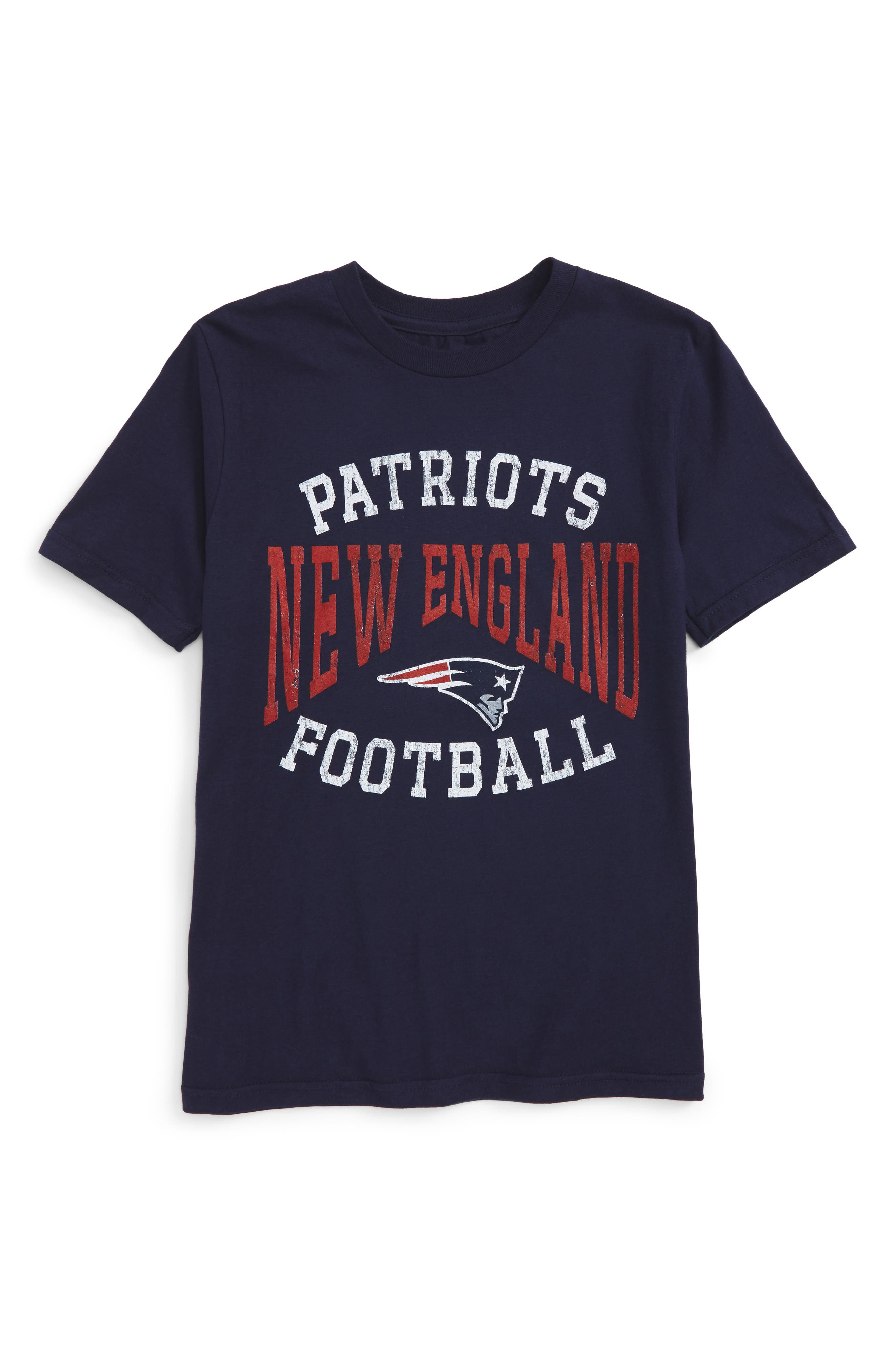 NFL New England Patriots Greatness Graphic T-Shirt,                             Main thumbnail 1, color,                             Navy