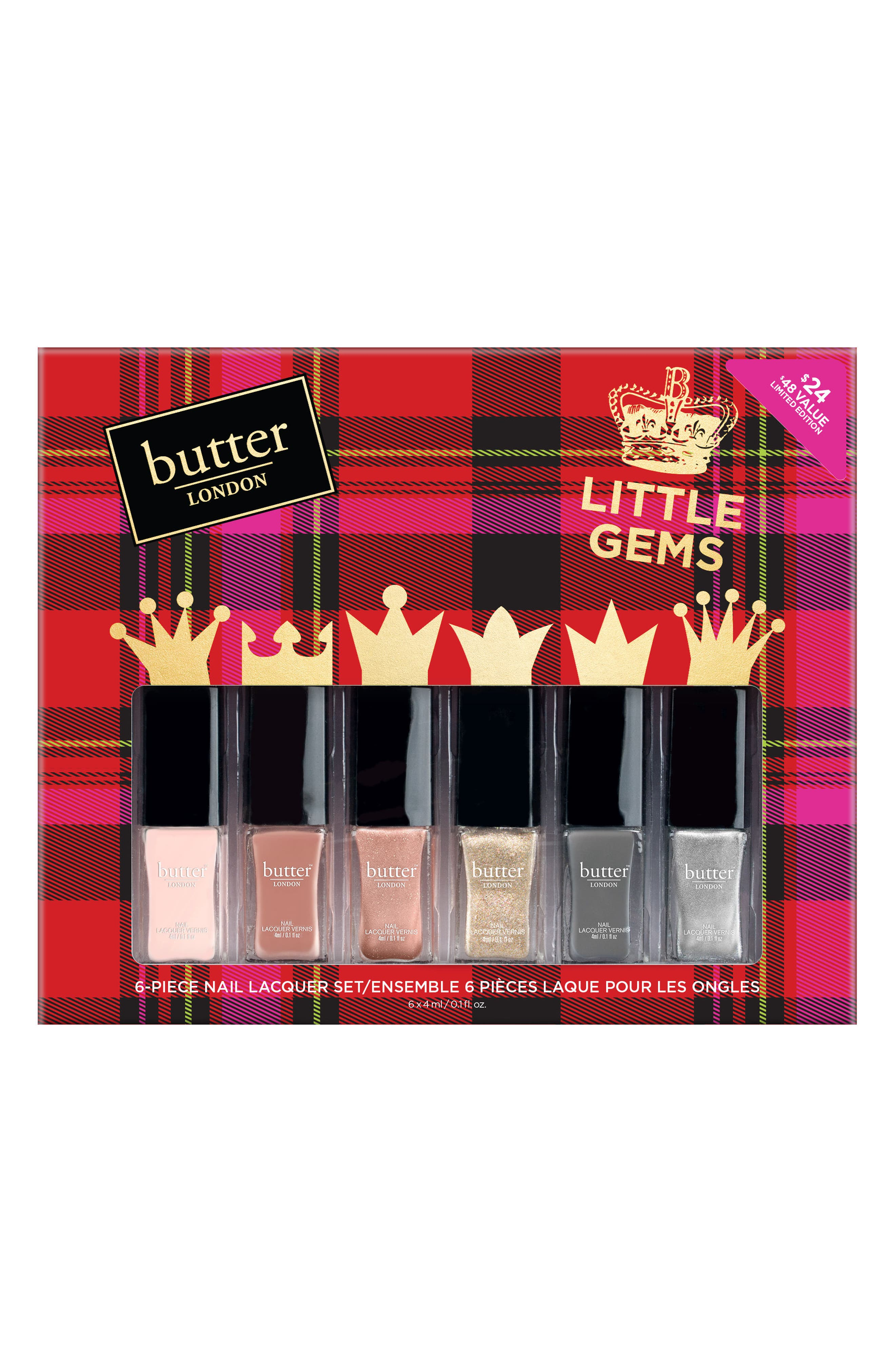 Main Image - butter LONDON Little Gems Collection ($48 Value)