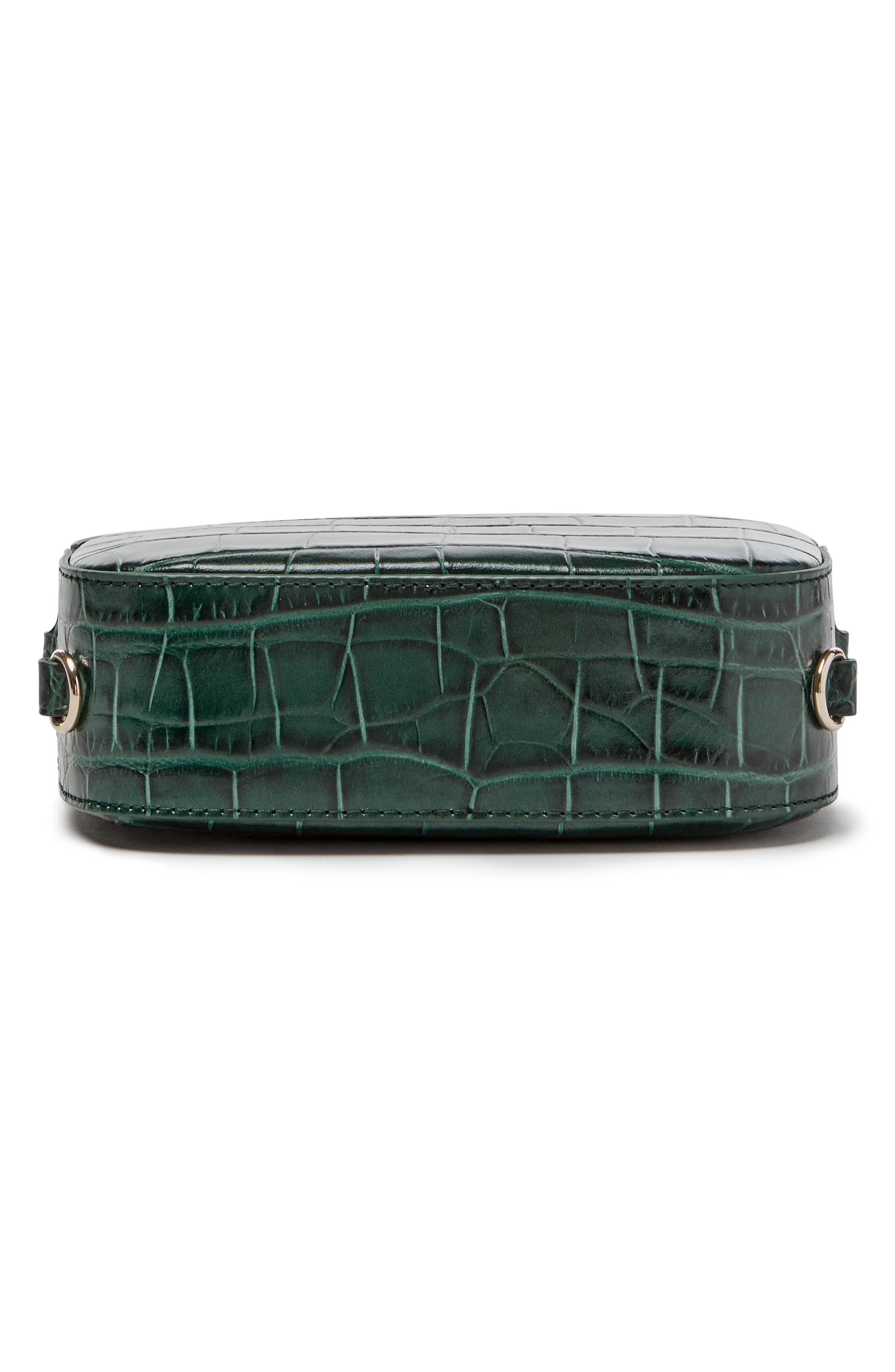 Alternate Image 5  - Pop & Suki Croc Embossed Camera Bag (Nordstrom Exclusive)