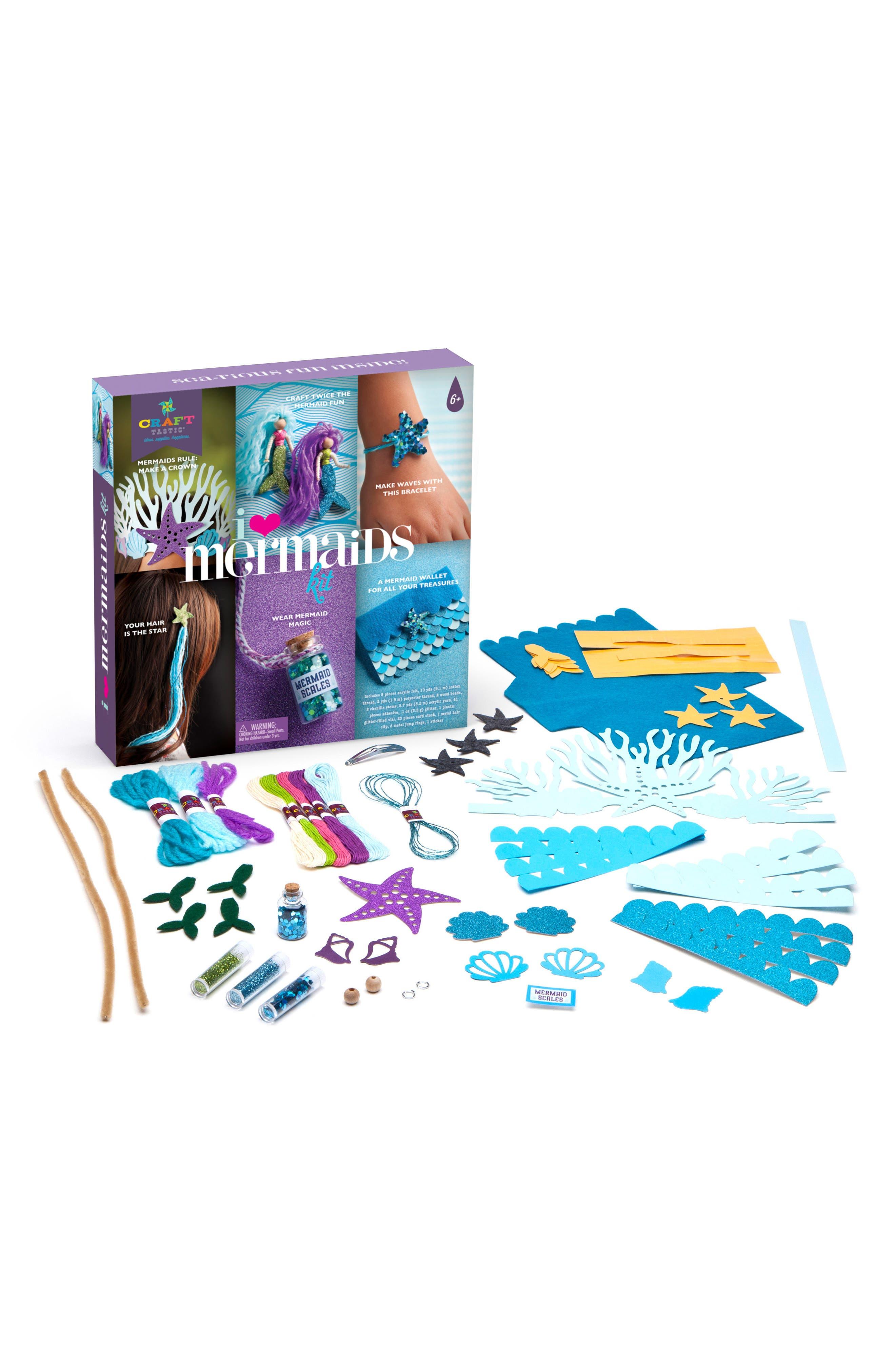 CRAFT-TASTIC I Love Mermaids Kit