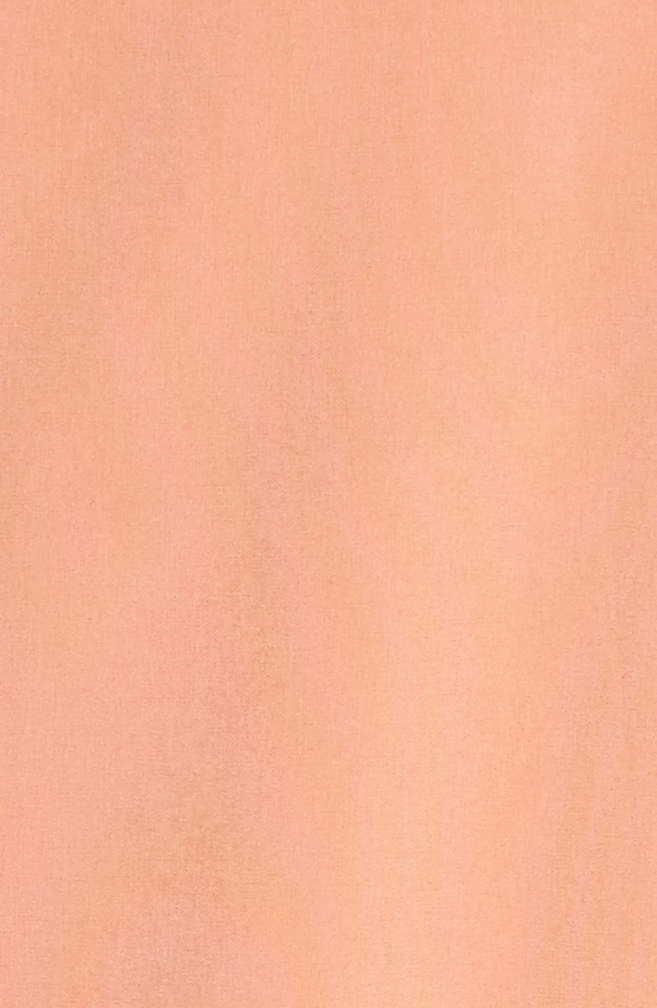 Long Bomber Jacket,                             Alternate thumbnail 7, color,                             Coral Muted
