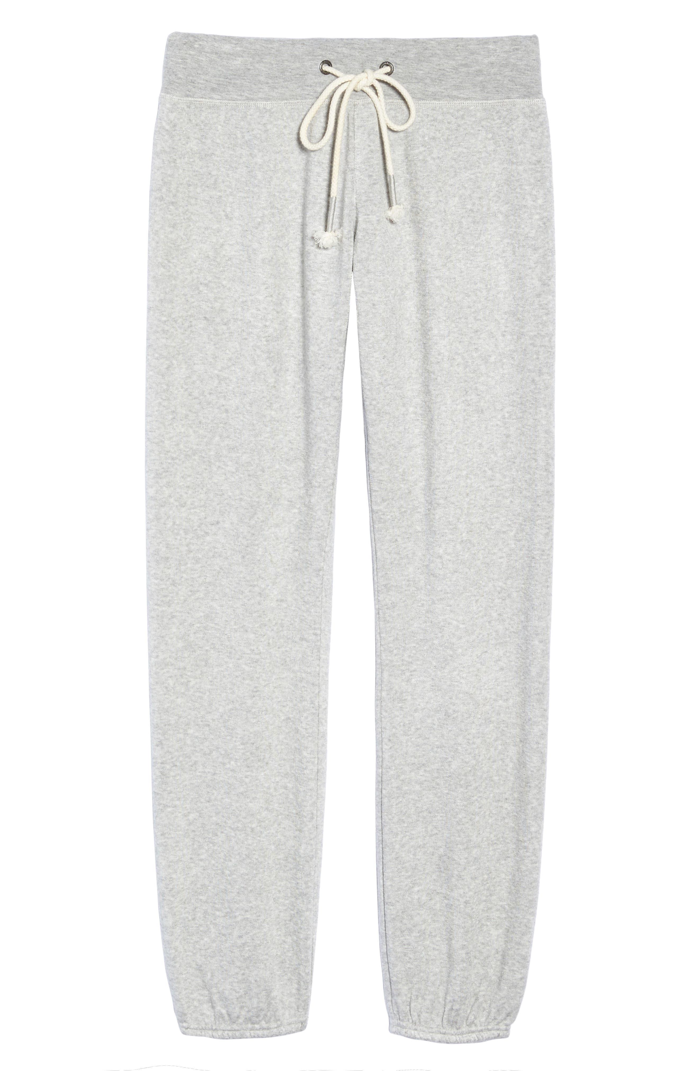 Alternate Image 7  - Make + Model Dreamy Fleece Jogger Pants