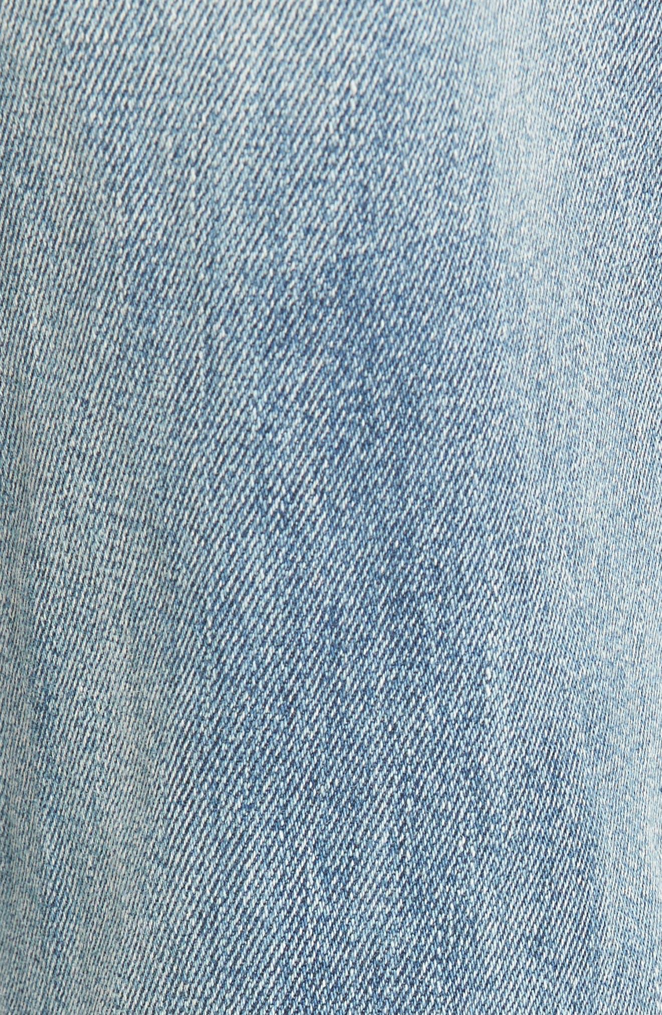 Alternate Image 5  - AFRM Cyrus High Waist Ankle Jeans (Sinner Wash)