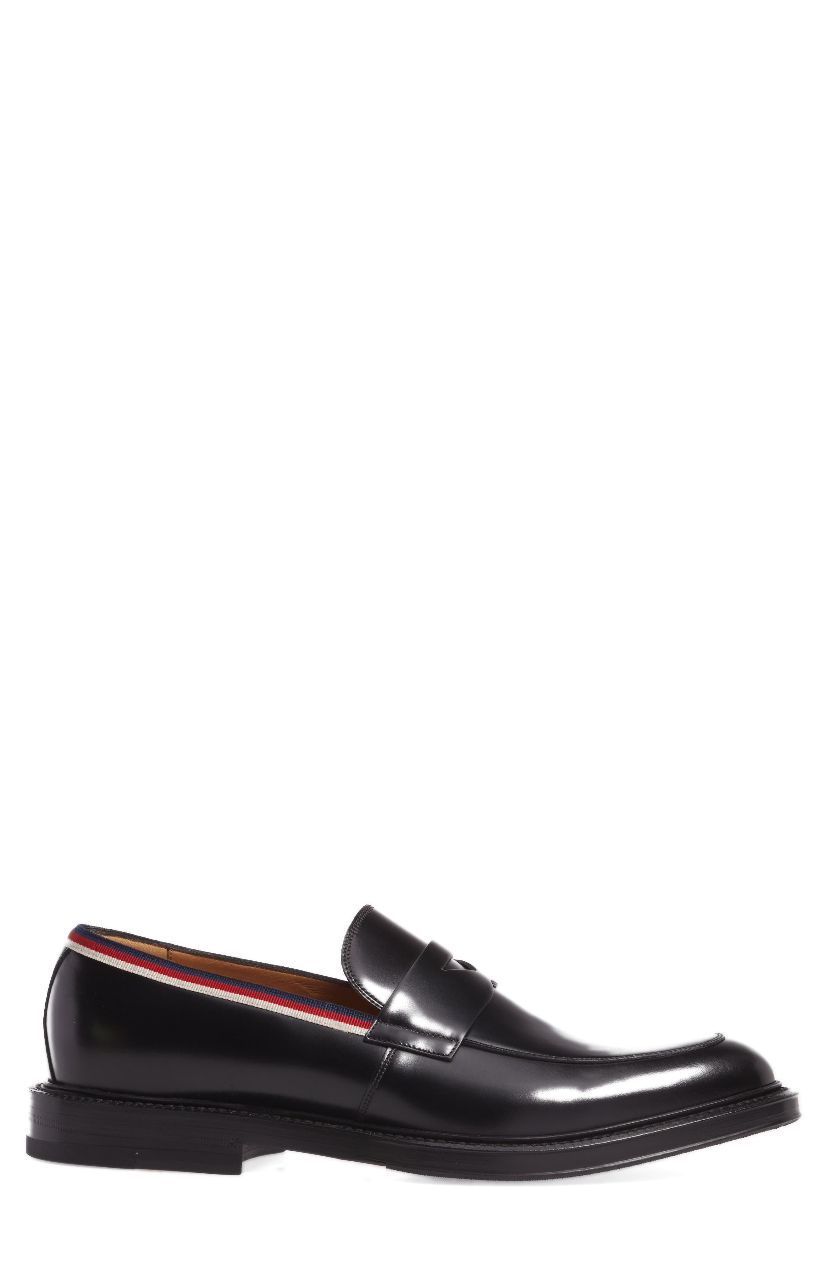 Beyond Penny Loafer,                             Alternate thumbnail 3, color,                             Black
