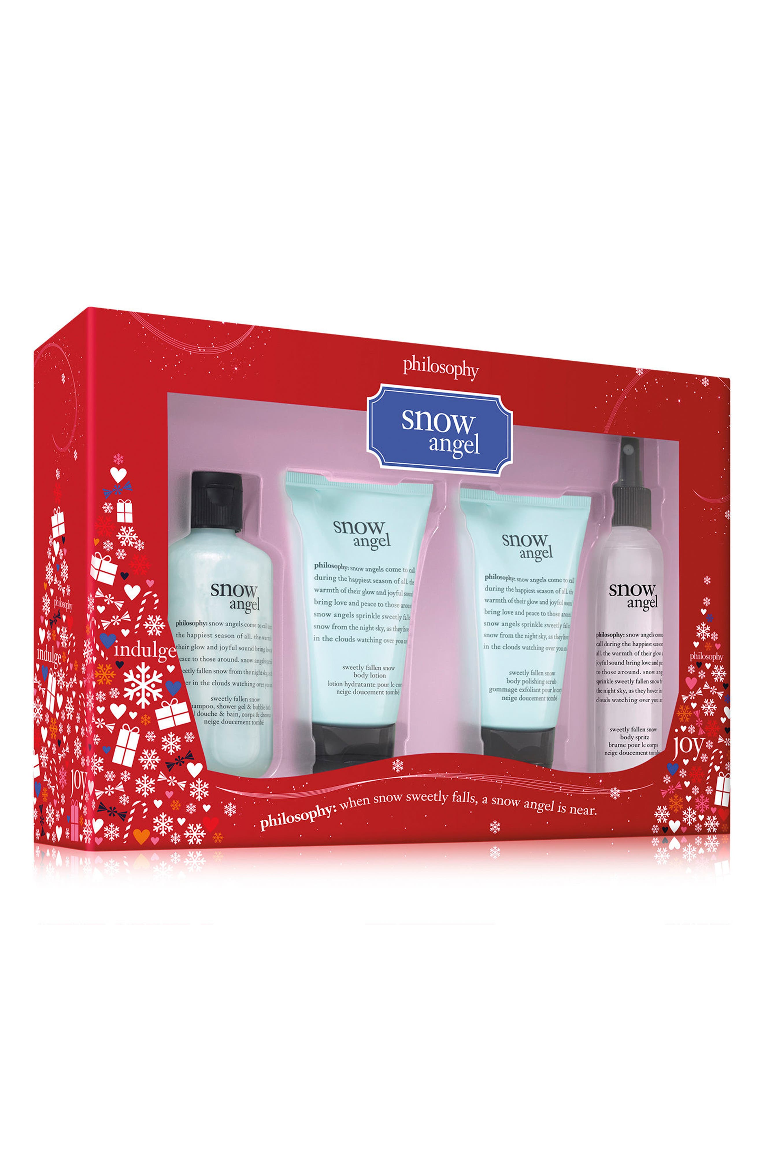 Main Image - philosophy snow angel 4-piece set (Limited Edition)