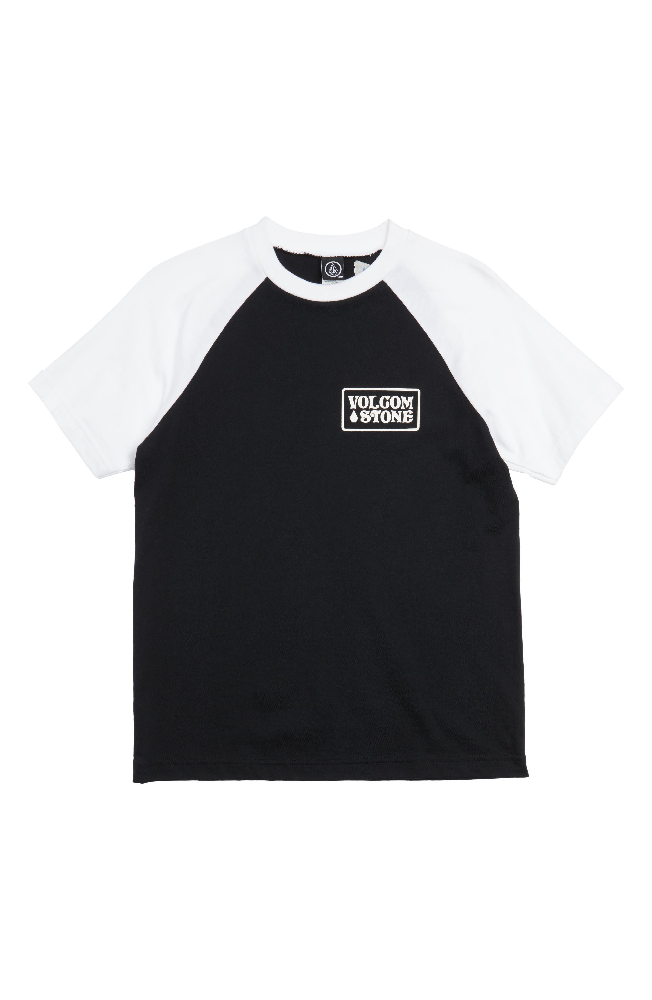 Alternate Image 1 Selected - Volcom Wrecker Raglan Sleeve T-Shirt (Big Boys)