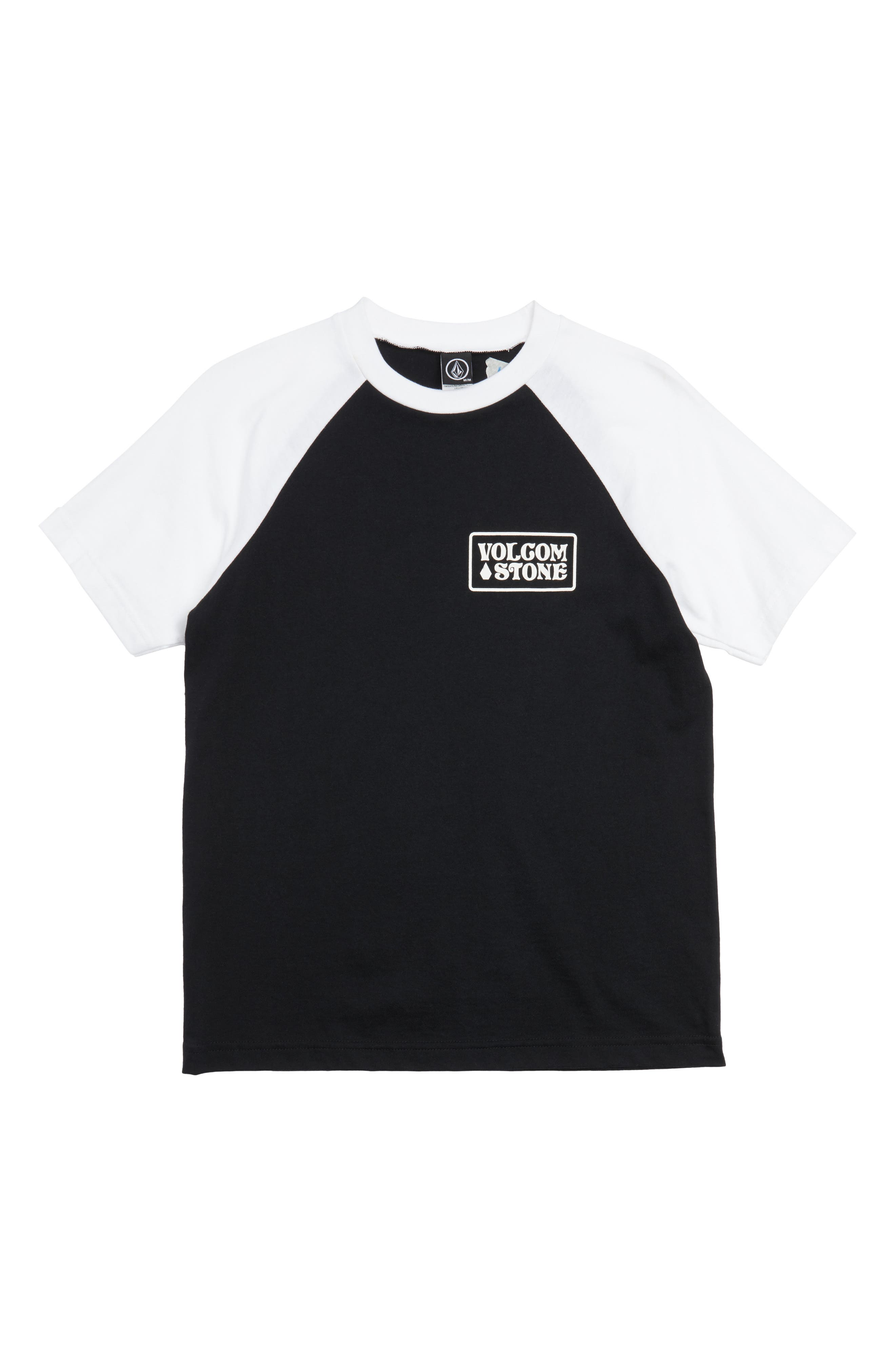 Wrecker Raglan Sleeve T-Shirt,                         Main,                         color, Black