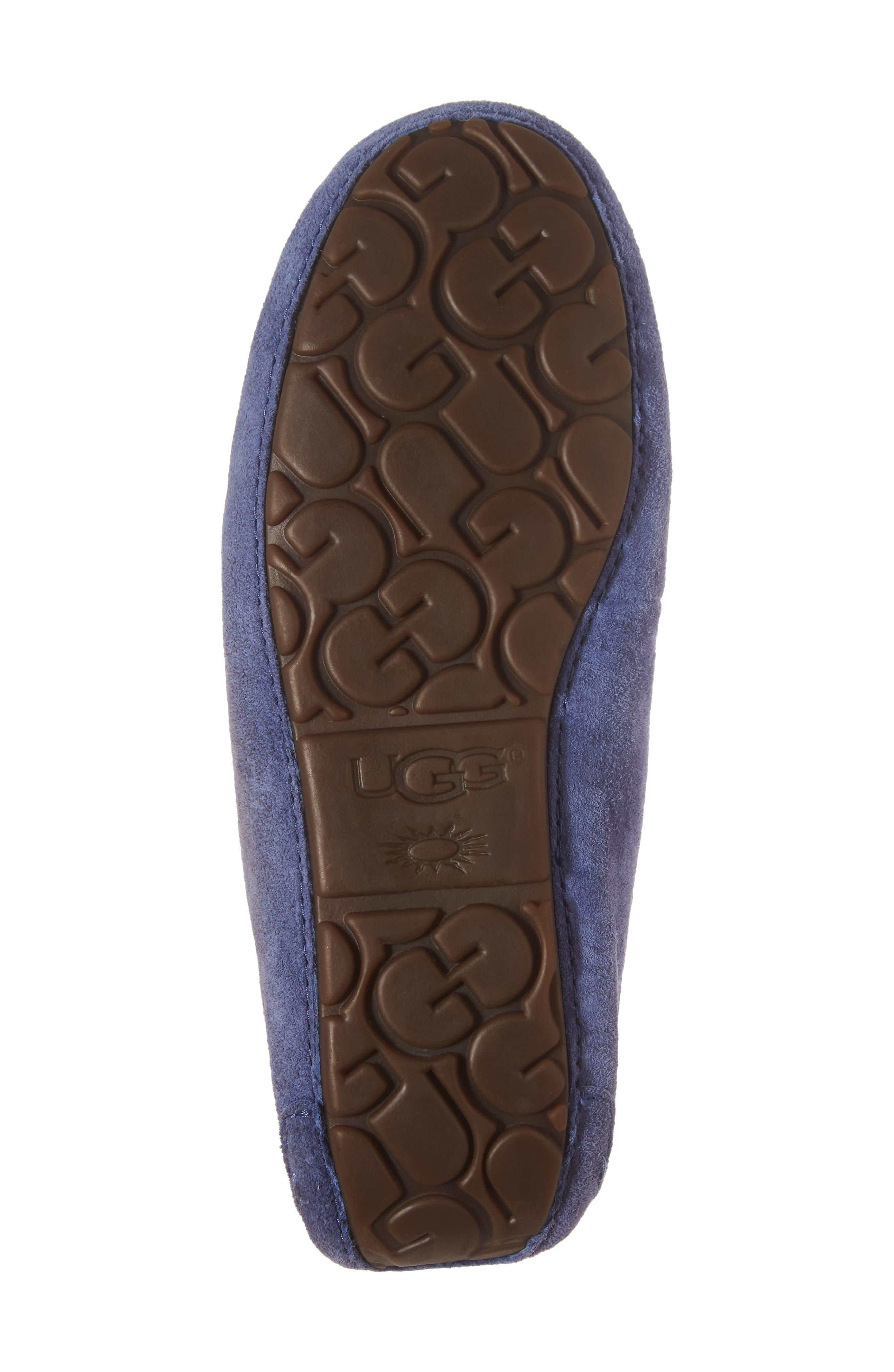 Alternate Image 6  - UGG® Florencia Water Resistant Silkee™ Suede Slipper (Women)