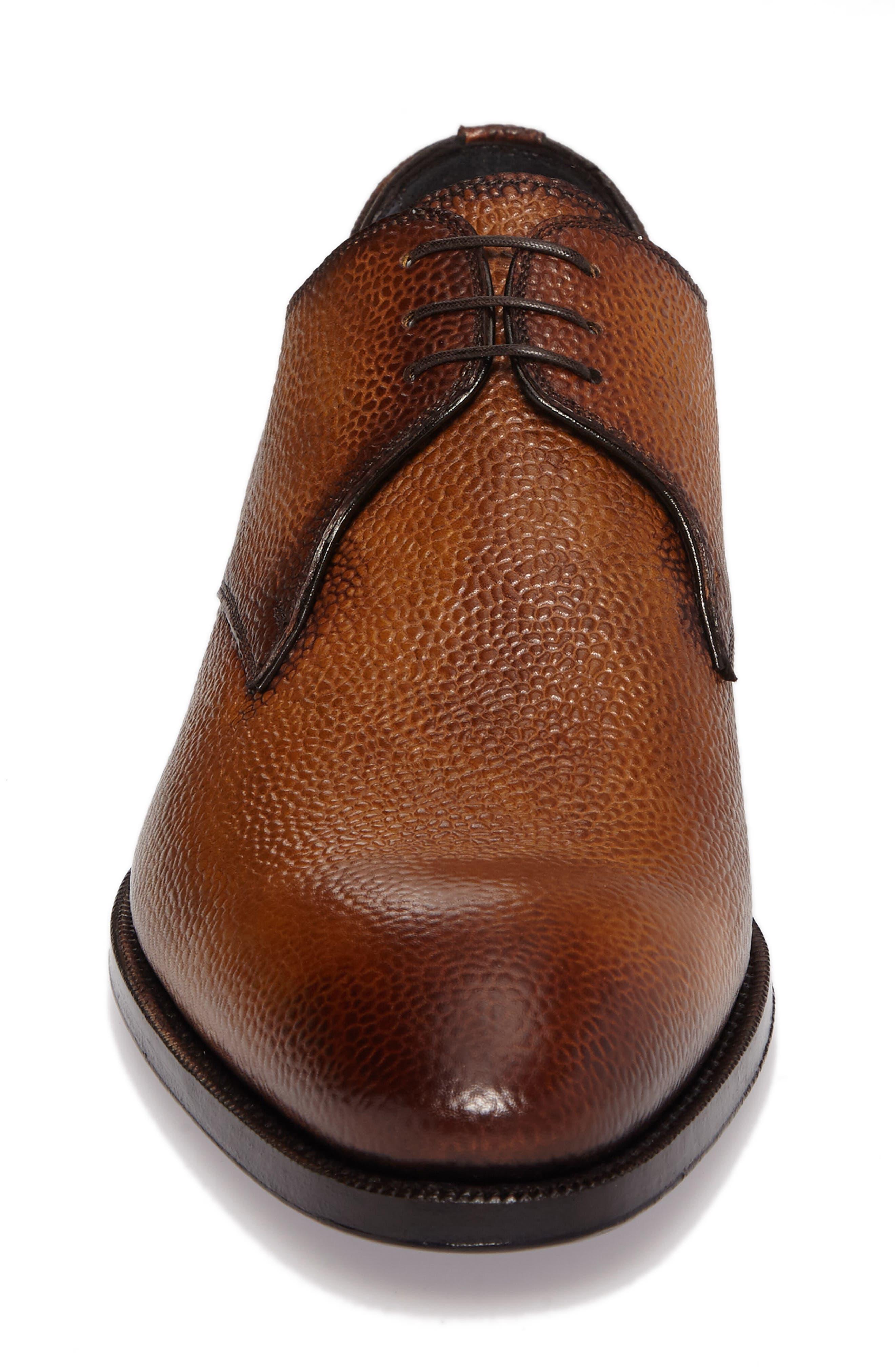 Alternate Image 4  - Di Bianco Gallo Plain Toe Derby (Men)